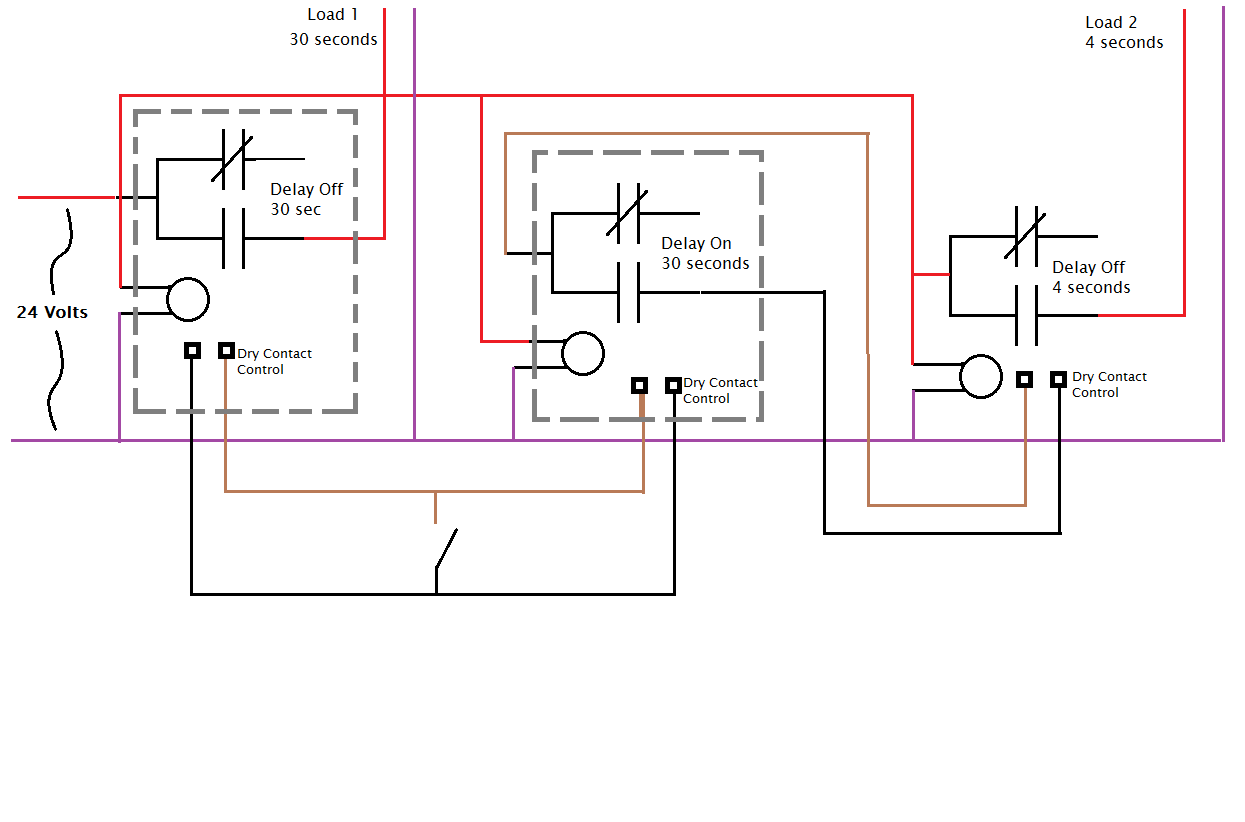 Crouzet Time Delay Relay Wiring Diagram House Symbols 12 Volt Off I Need Help Configuring And A 11 Pin Plug In Timer Rh Justanswer Com