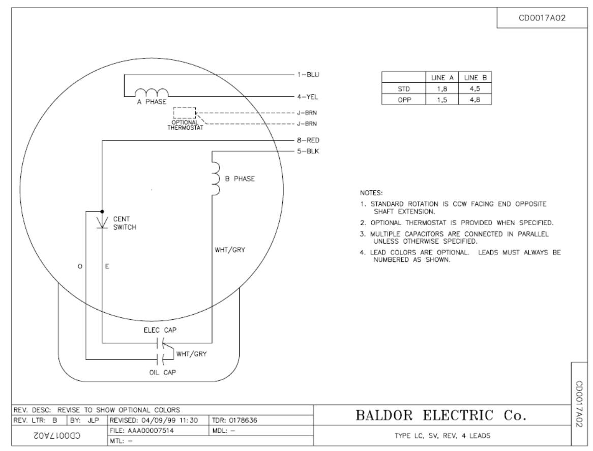 1 hp baldor capacitor wiring i hve a baldor motor 3 cap 2 run cap someone have unplug from the  i hve a baldor motor 3 cap 2 run cap
