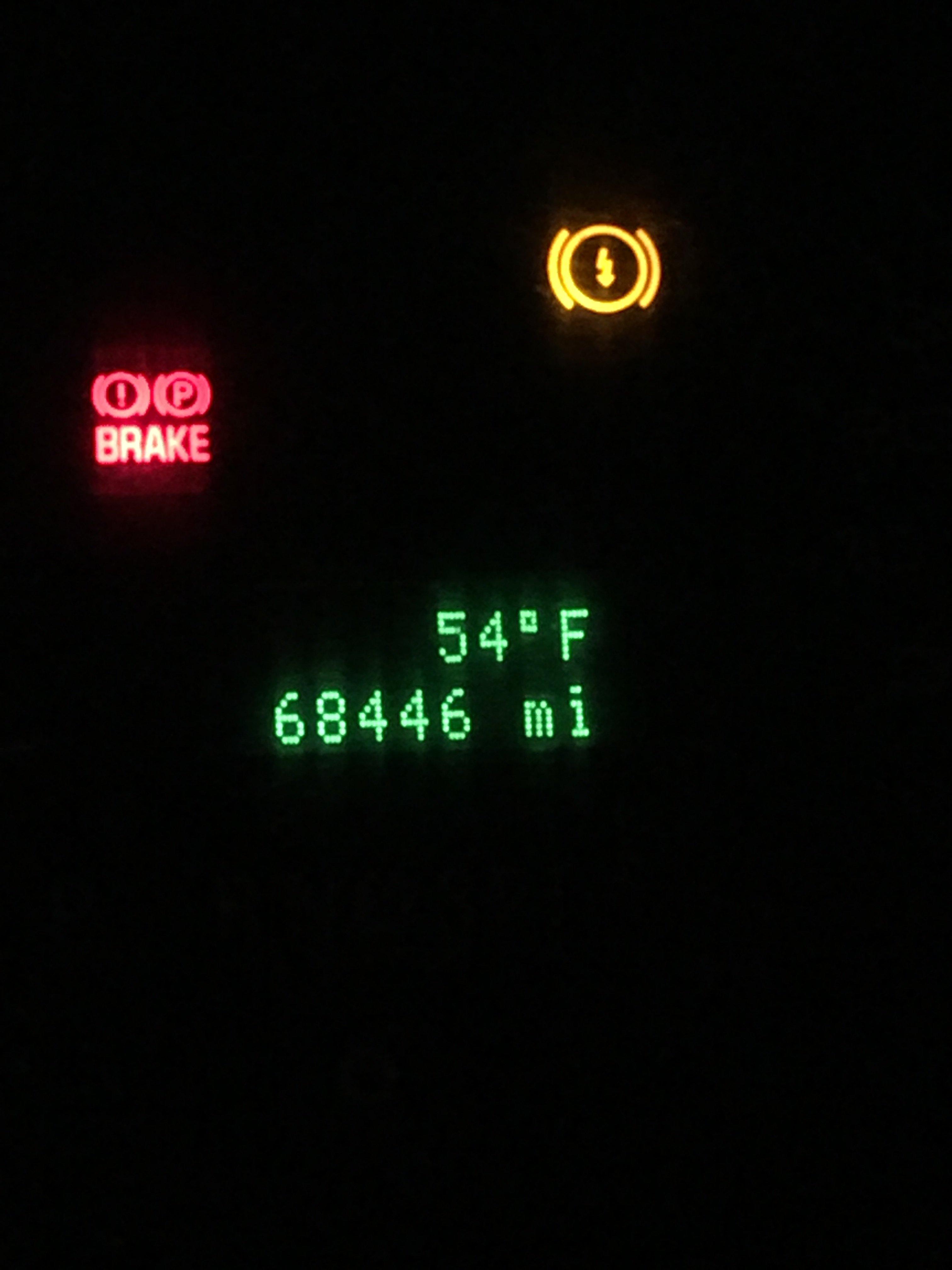 I have a 2013 ford v10 68 gas f59 the epb light is on it is img0391g buycottarizona Choice Image