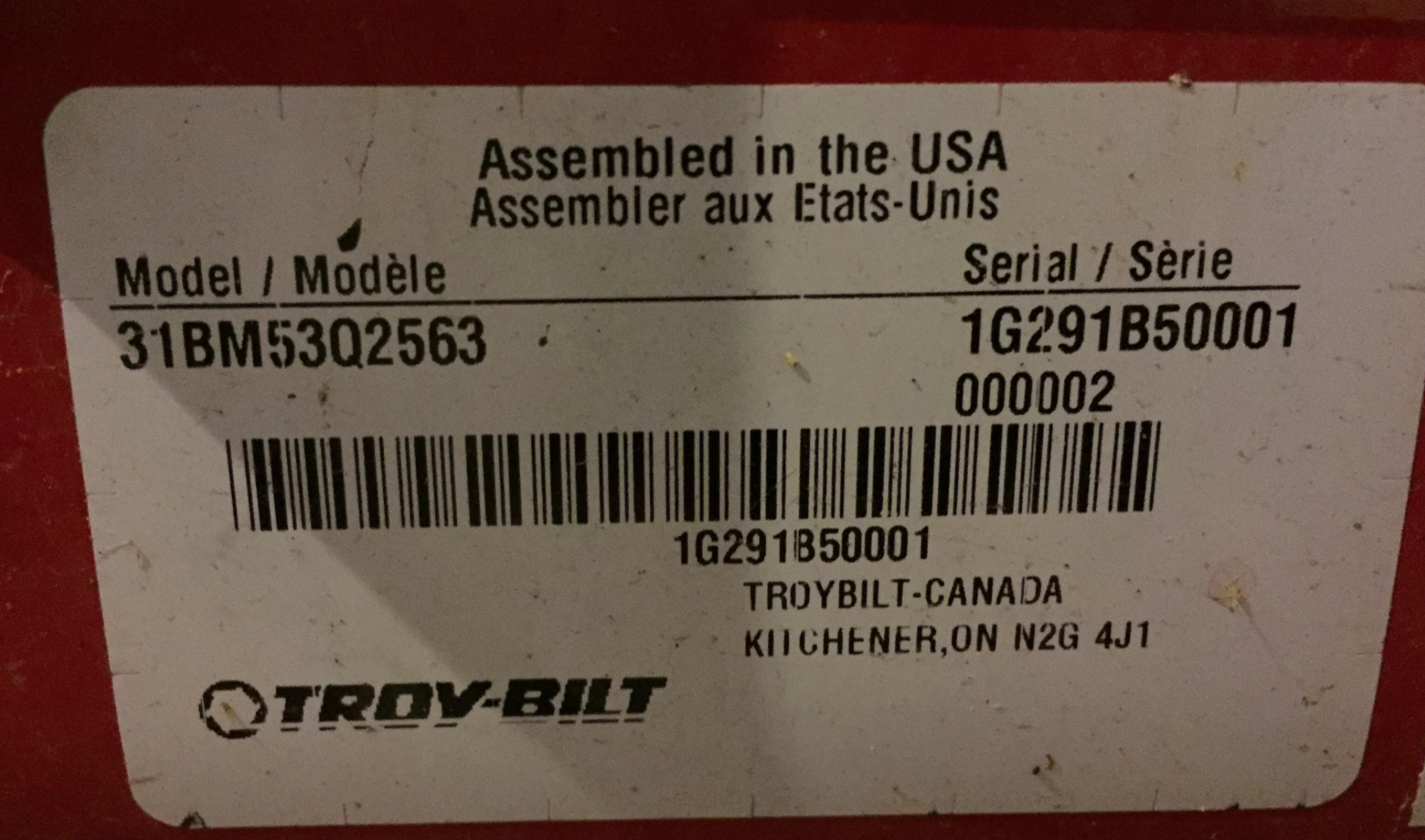 My Troybilt Storm 2410 Snow Blower Won39t Start