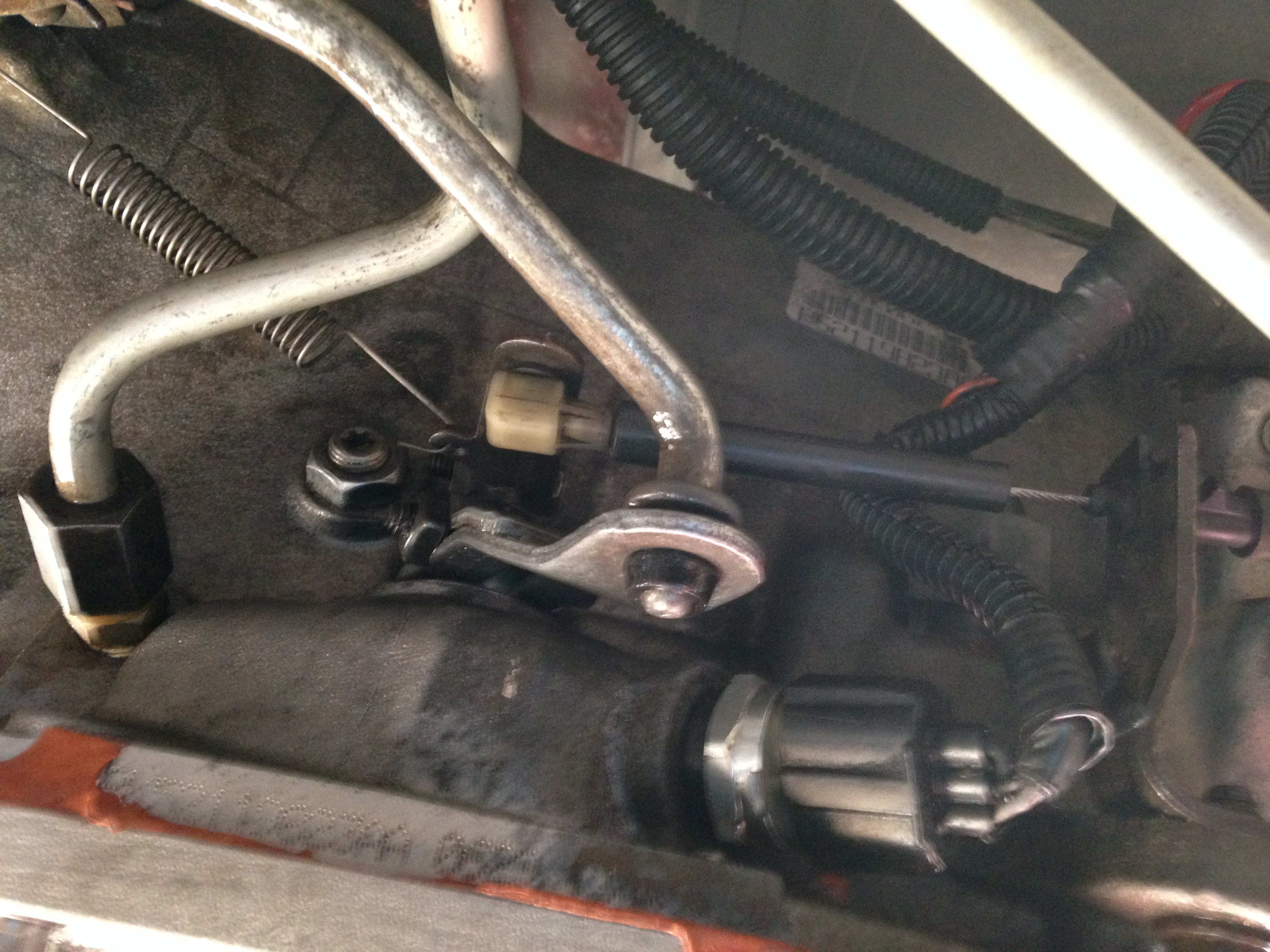 My 1999 dodge ram 46re transmission  Changed shift shaft seal and