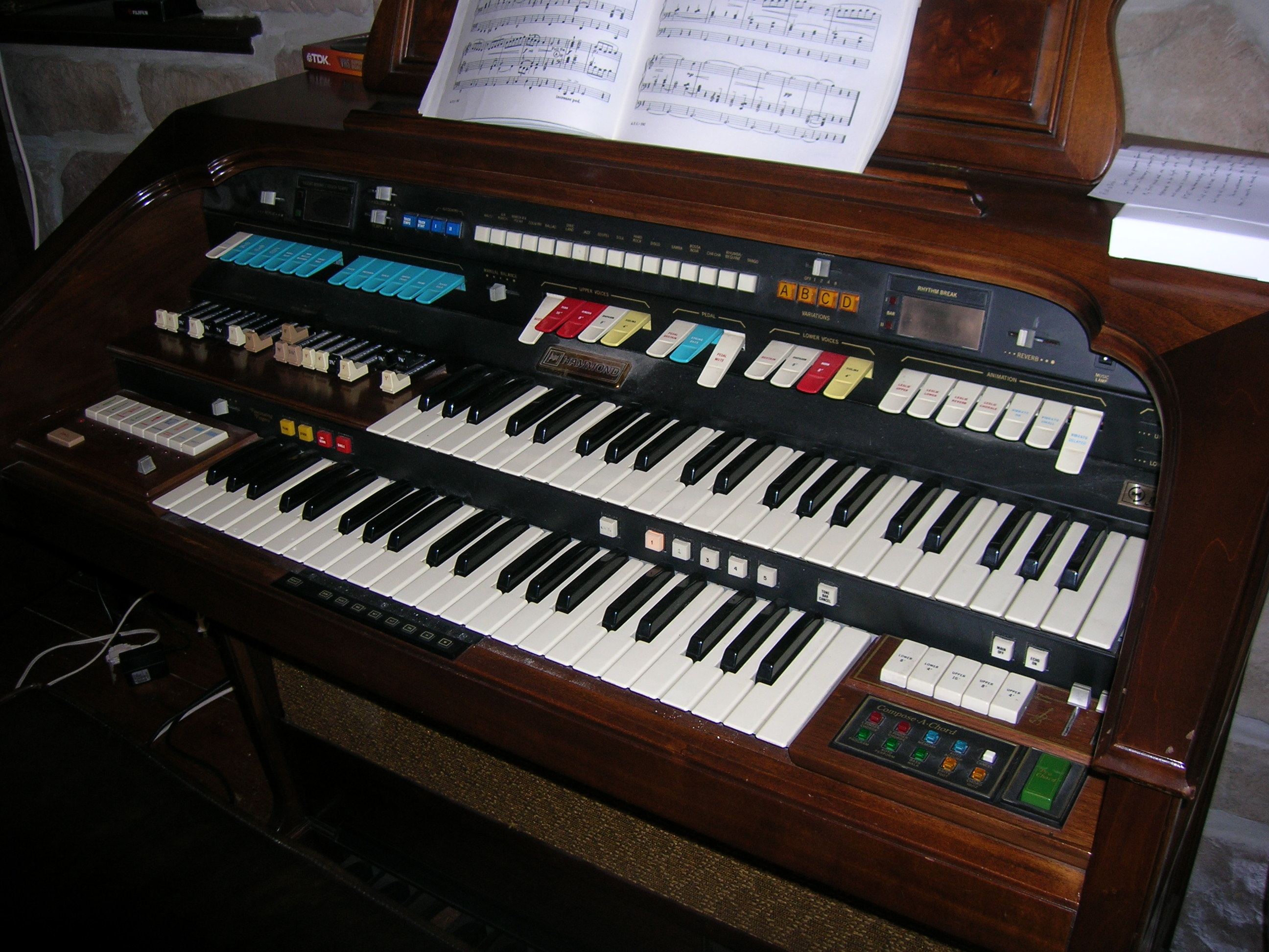 I have a Hammond organ model 246172 circa 1983 it is in good
