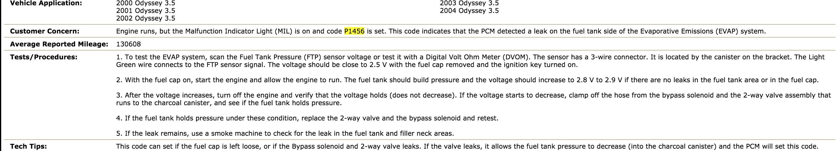 Got a 2003 Honda odyssey3 5 with codes p0301, p0302, p0303