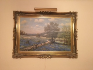 I have an original oil of Bluebonnets by W. R. Thrasher that was my ... 9791eef9217