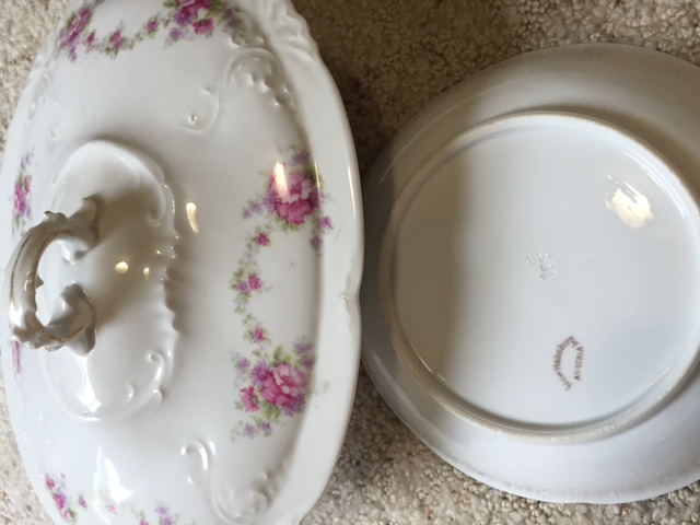I Have A Set Of Pink Floral New Habsburg China From My Husbands