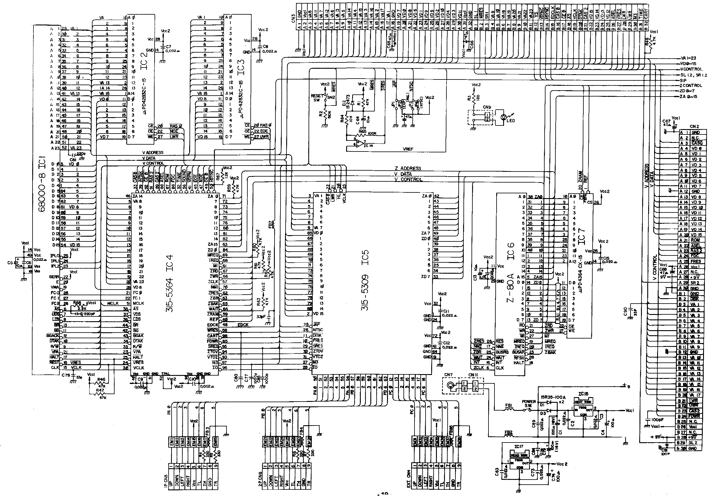 N64 Wiring Diagram | Wiring Liry on