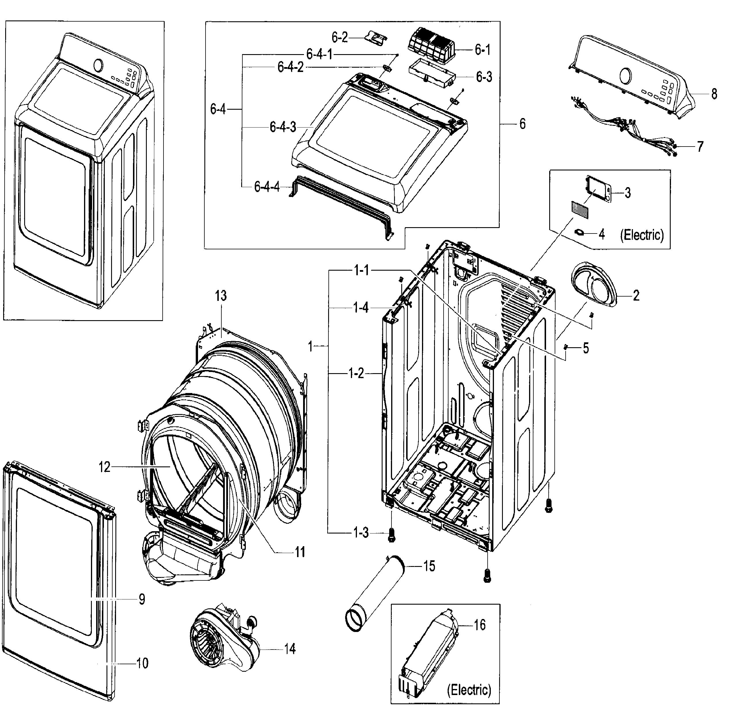 Samsung Dryer Dv45h7000ew Belt Replacement Best 2018 Diagram Dc93 00634a 6602 001655 Idler Pulley Original