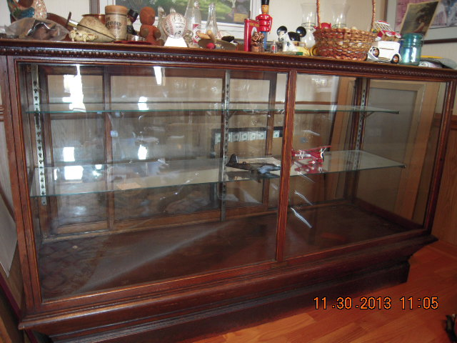 Customer reply - Looking As To How Antique Department Store Display Cases Are Valued