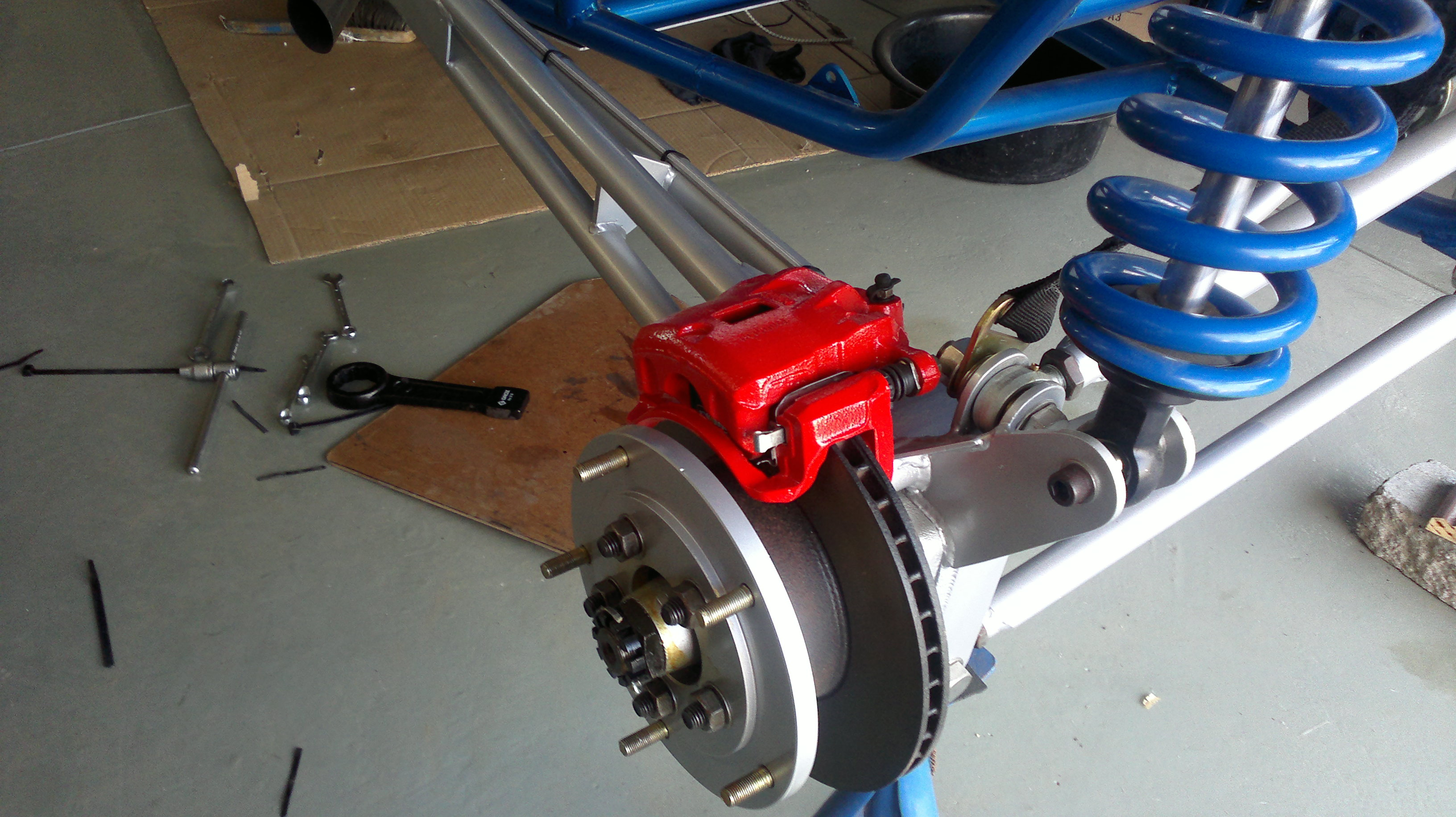 Sand Rail Rear Axle : Vw air cooled rear stub axle has excessive quot bearing