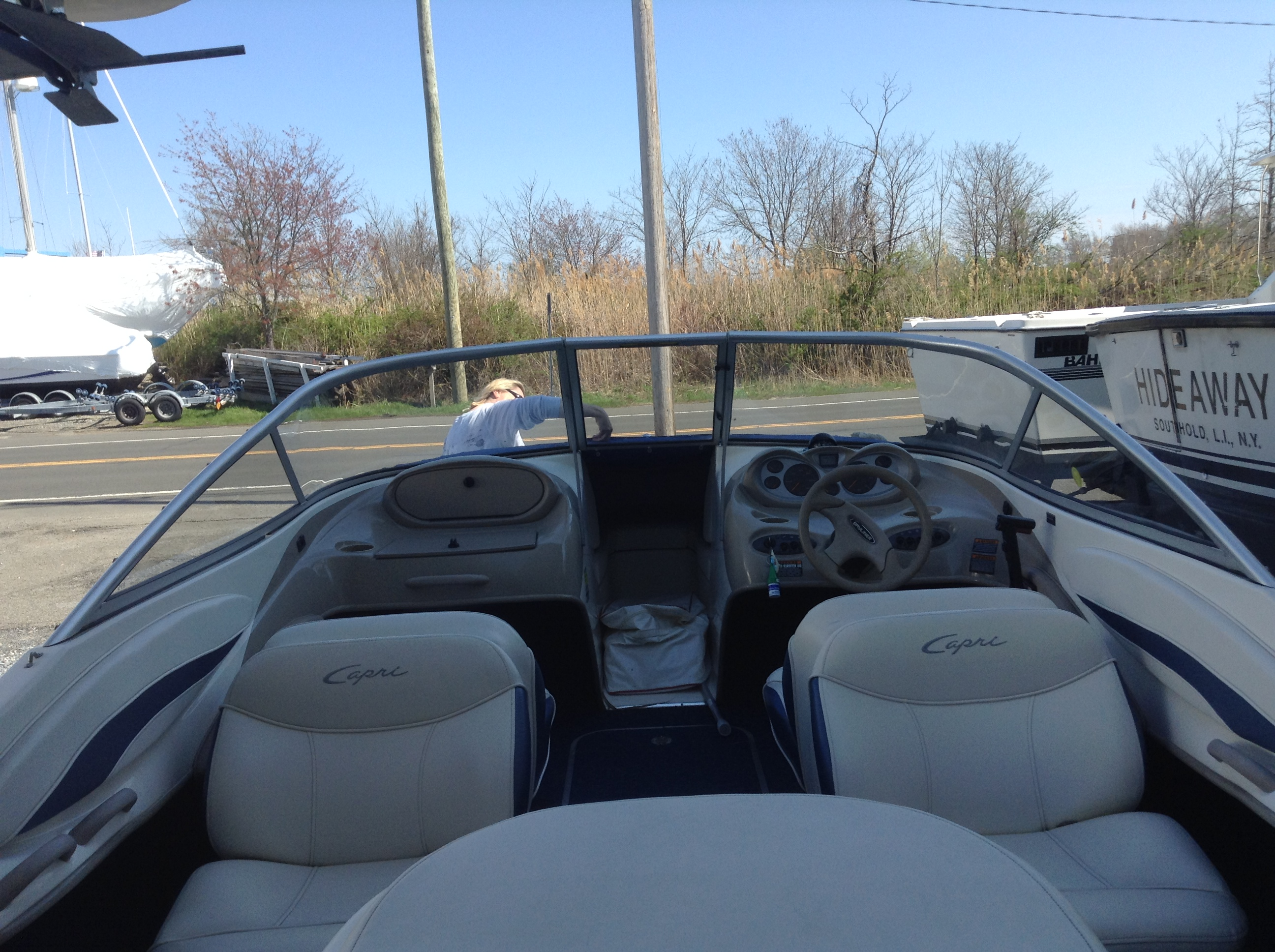 I have a 2001 Bayliner 1950 (BT) Capri with a 4 3 Mercruiser