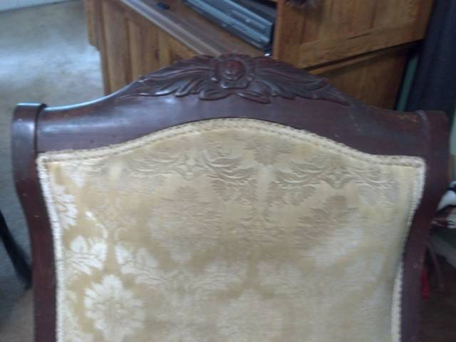 Incredible I Have An Antique Gooseneck Rocking Chair That Was Handled Ibusinesslaw Wood Chair Design Ideas Ibusinesslaworg