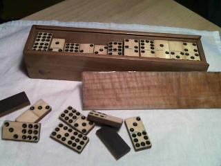 Ebony And Ivory Dominoes