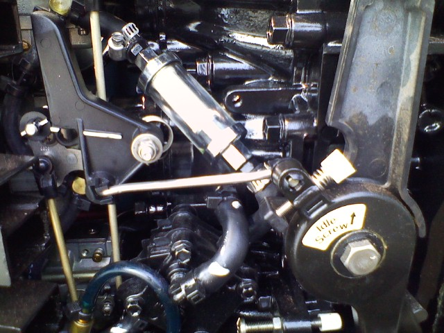 Throttle Linkage Clip I Have A 2006 90 HP 2 Stroke Outboard