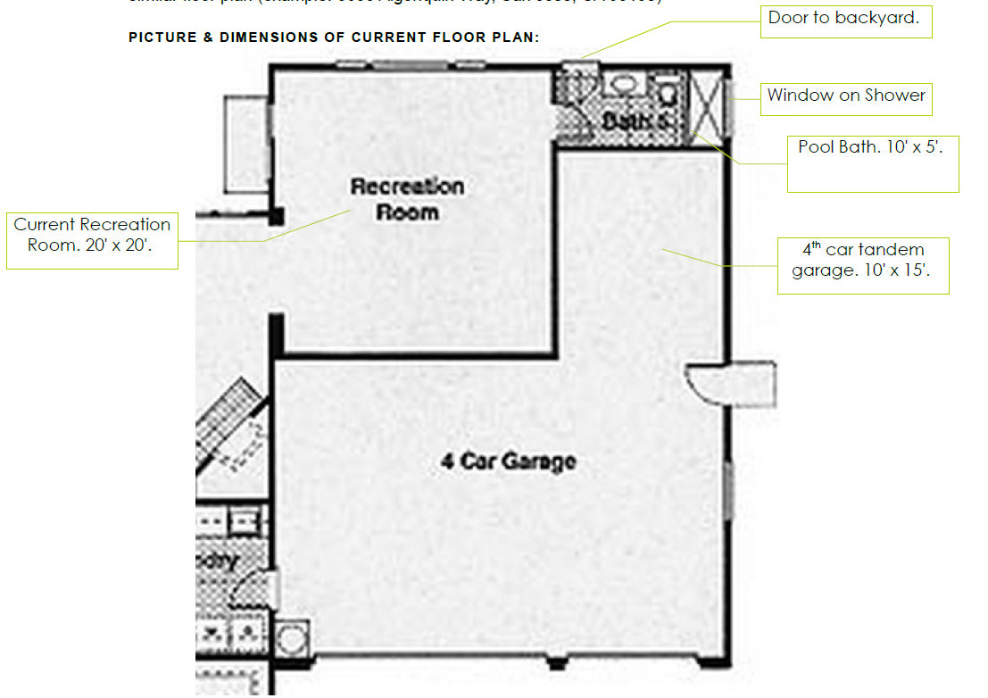 I need to remove my 4th car tandem garage and add that for 4 car tandem garage house plans