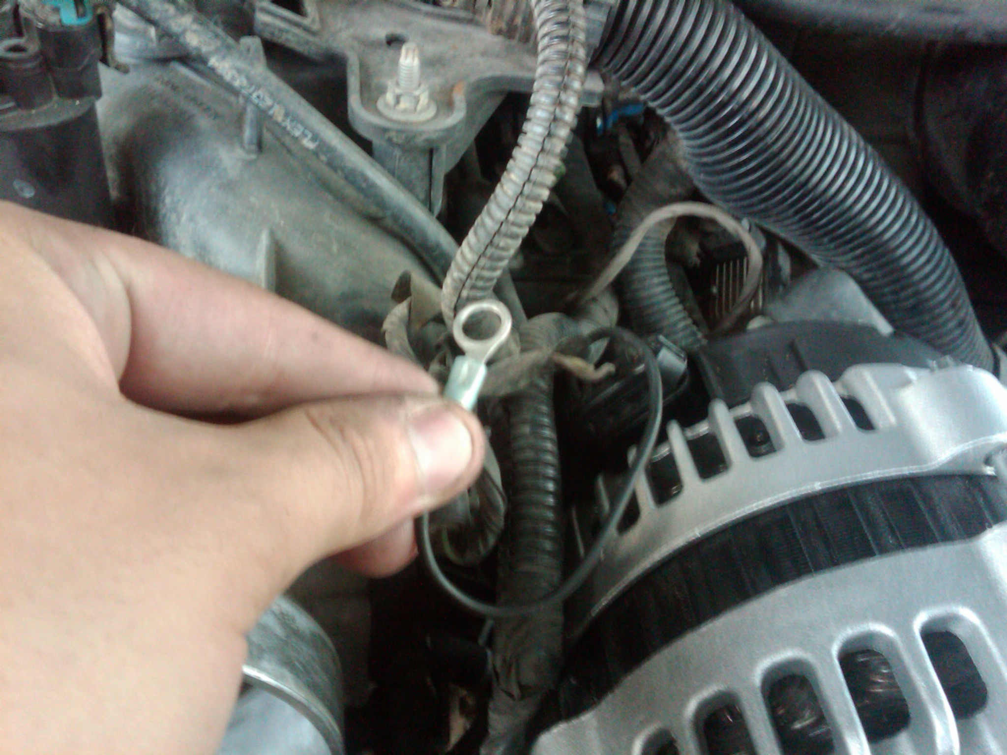I Need To Understand Wiring For The Alternator On A 2002