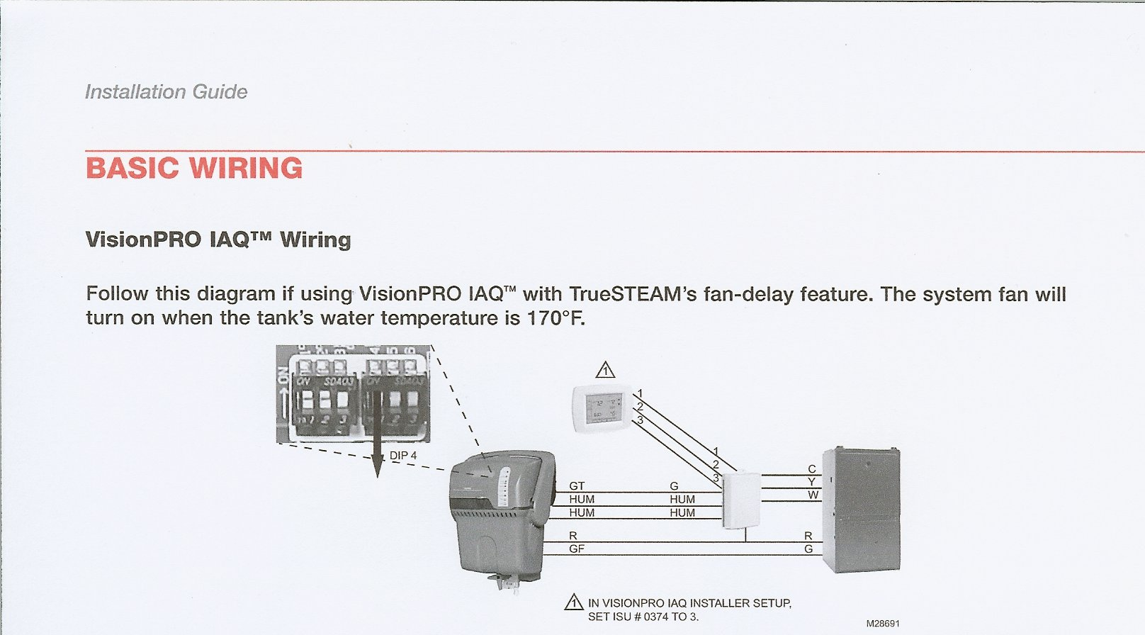 Trane Xr90 Wiring Diagram Schematics Xv95 I Just Installed A Honeywell Hm509 Humidifier To My