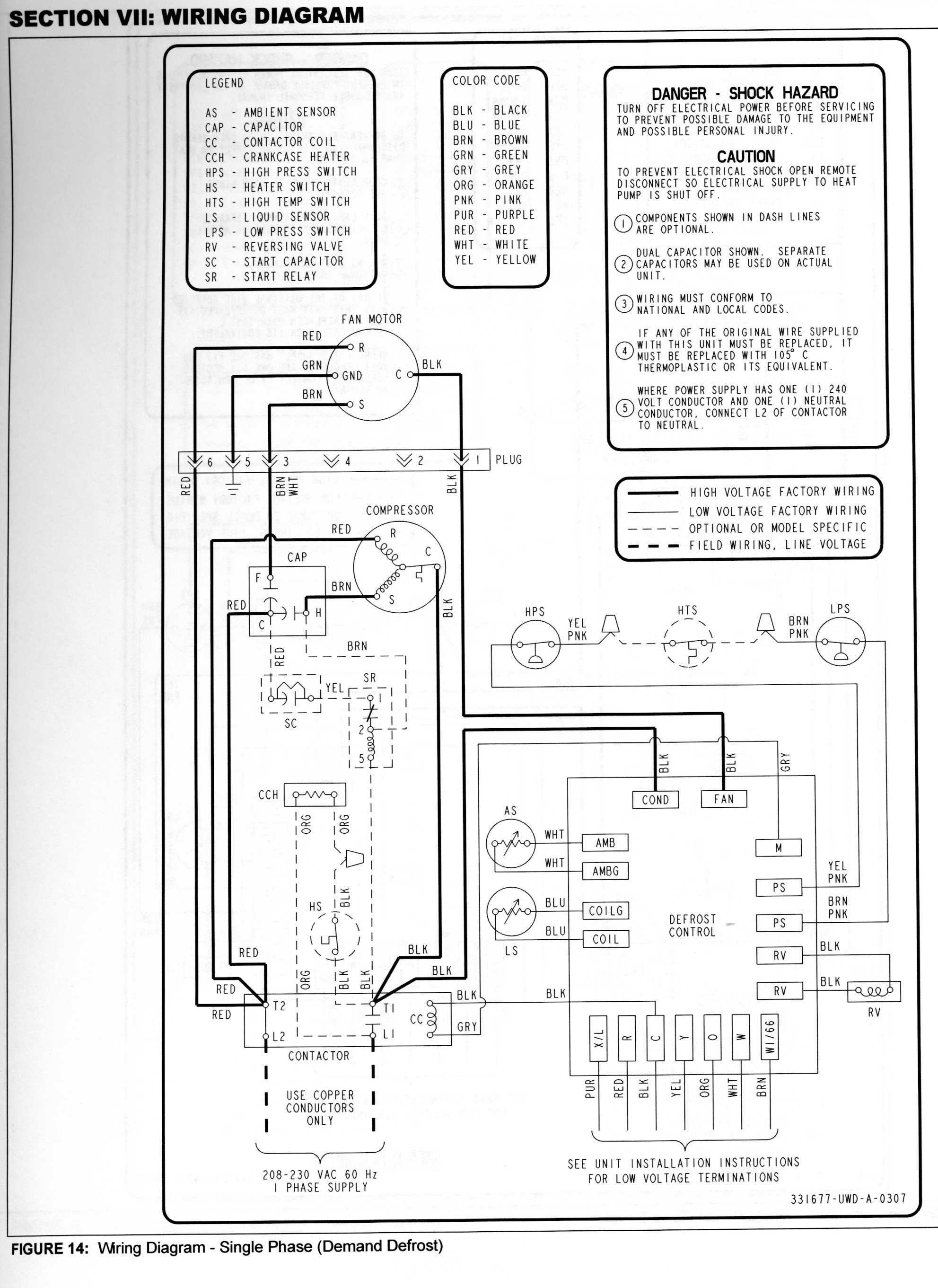 i have a york heat pump with a yhjf 3.5 ton compressor unit and ahe air handler. emergency heat ... lennox heat pump thermostat wiring diagram schematic
