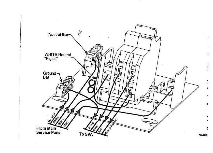 Wire Diagram 240v Hot Tub