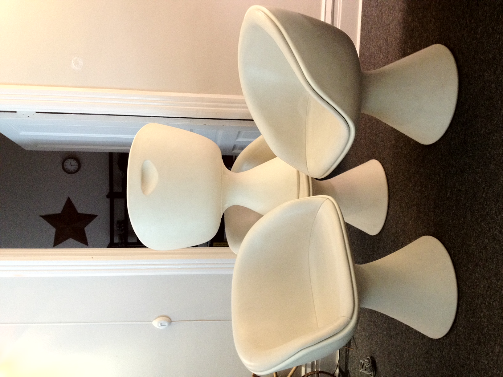 Need Appraisal Of Mid Century Chairs By Maurice P. Burke. If I Sent Photo  Can You Help?