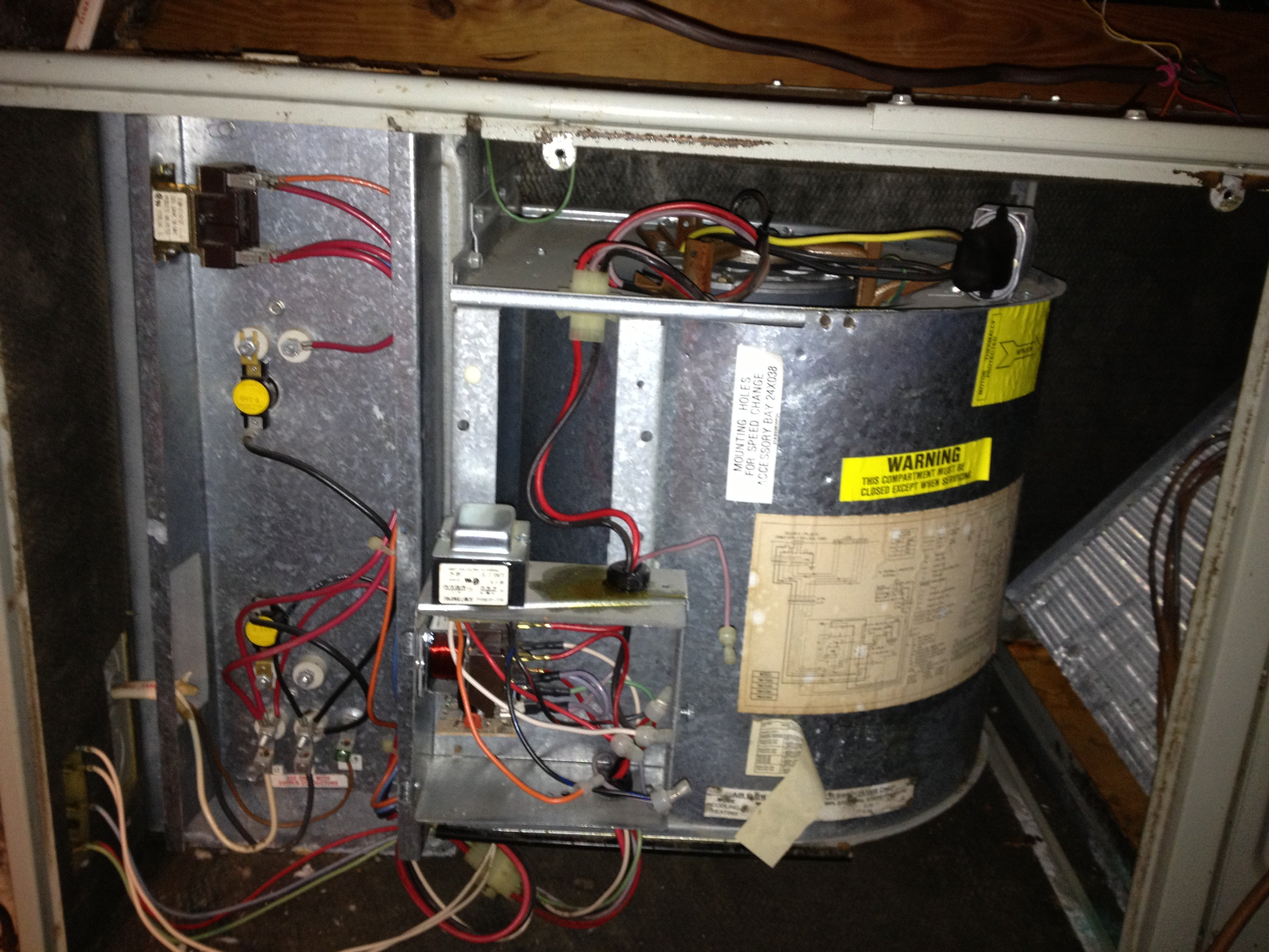 We Have A Trane Split System Heat Pump For Our Upstairs  Below 60f Outside Temp And When The