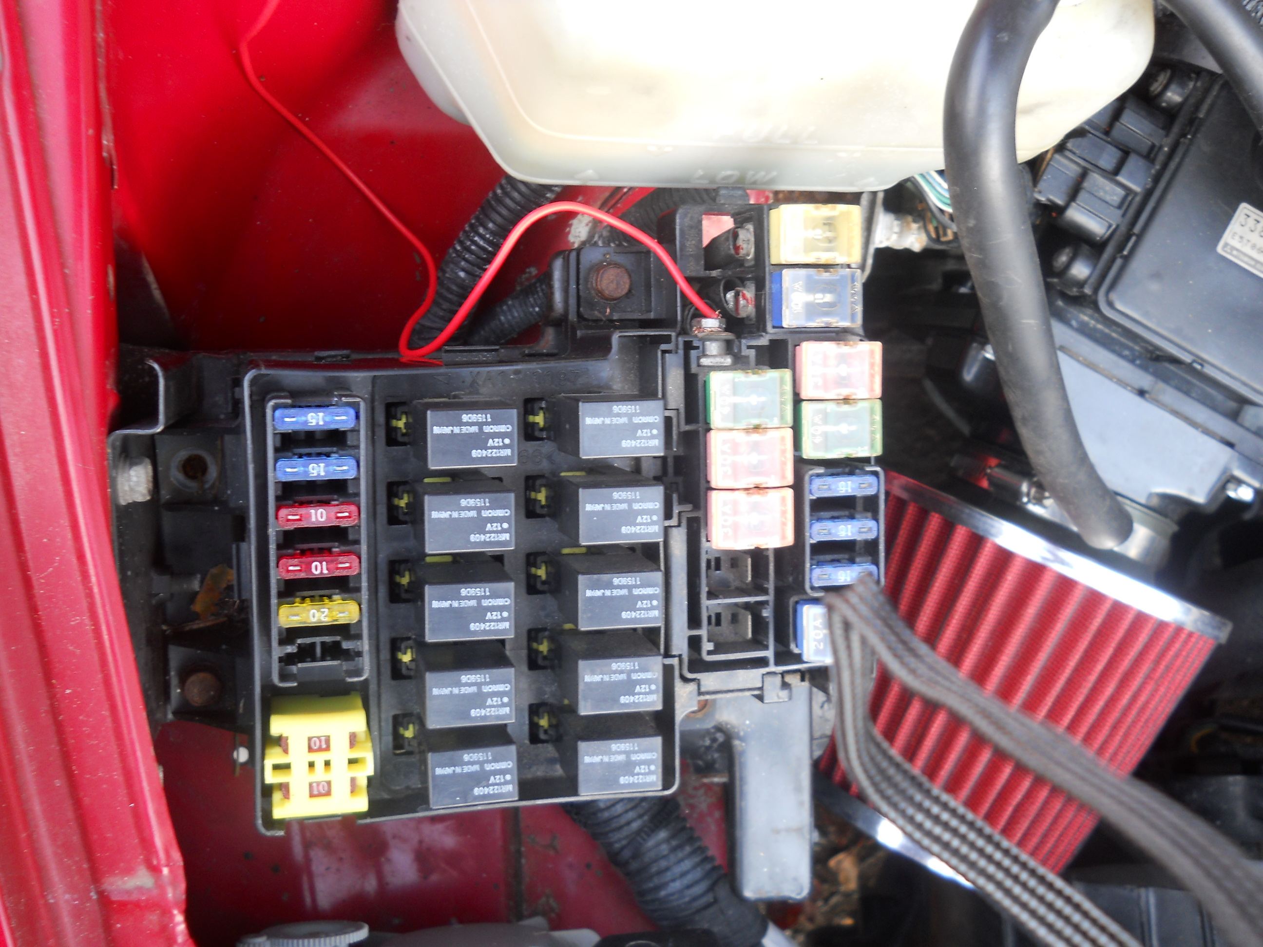 I have a 1999 mitsubishi eclipse spyder 2.4. The previous owner could not  get the car started and said there was no power to ecu so he ran power wire  direct ...