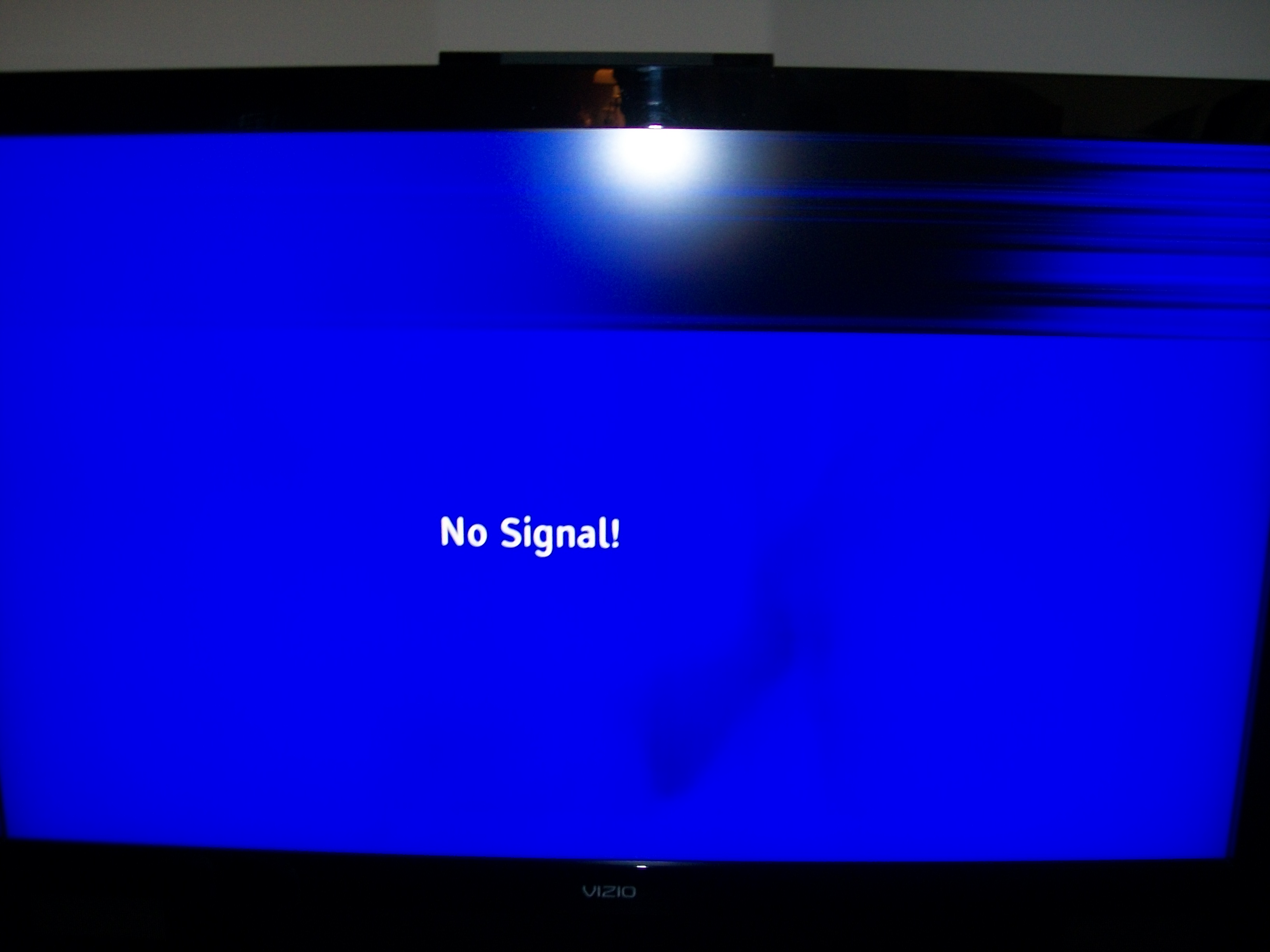 Vizio Vw46l Top 25 Of Screen Is Flickering Horizontal Black Lines At Times It Go Away And At Times All Black This Has