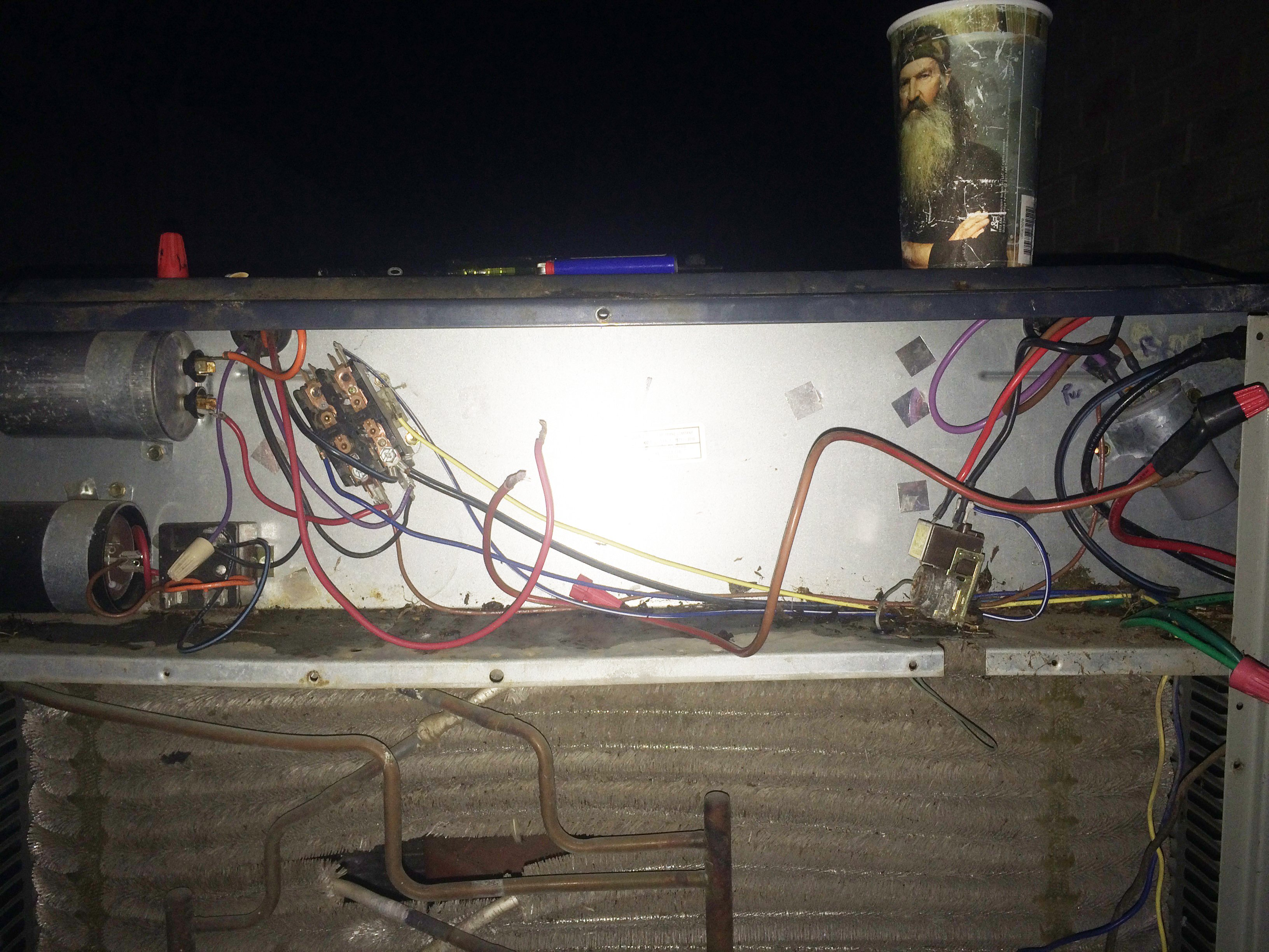 Trane xl 1200...repair guy came out and messed around with it for a while  before saying it needed a hard start kit. He | Hvac Wiring Diagram For Trane 1200 Xl |  | JustAnswer