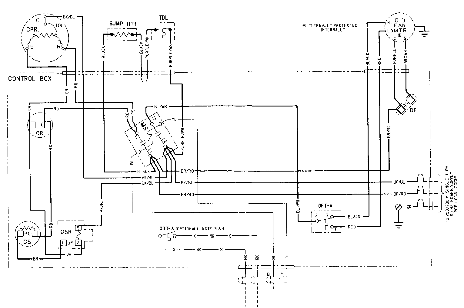 Trane Xl 1200repair Guy Came Out And Messed Around With It For A Hvac Hard Start Kit Wiring Diagram 2015 05 15 004835 Ac