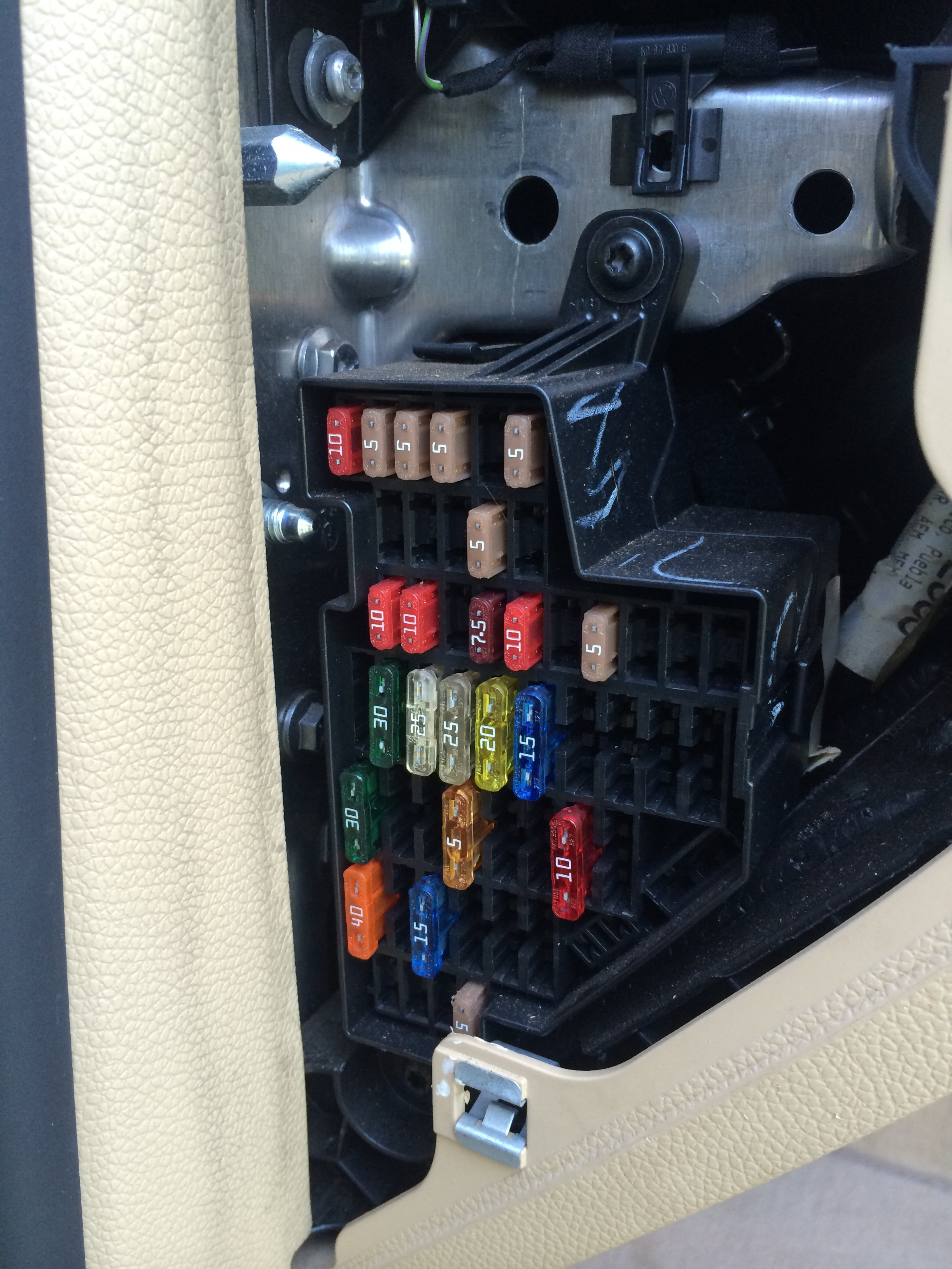 to go  fuse box