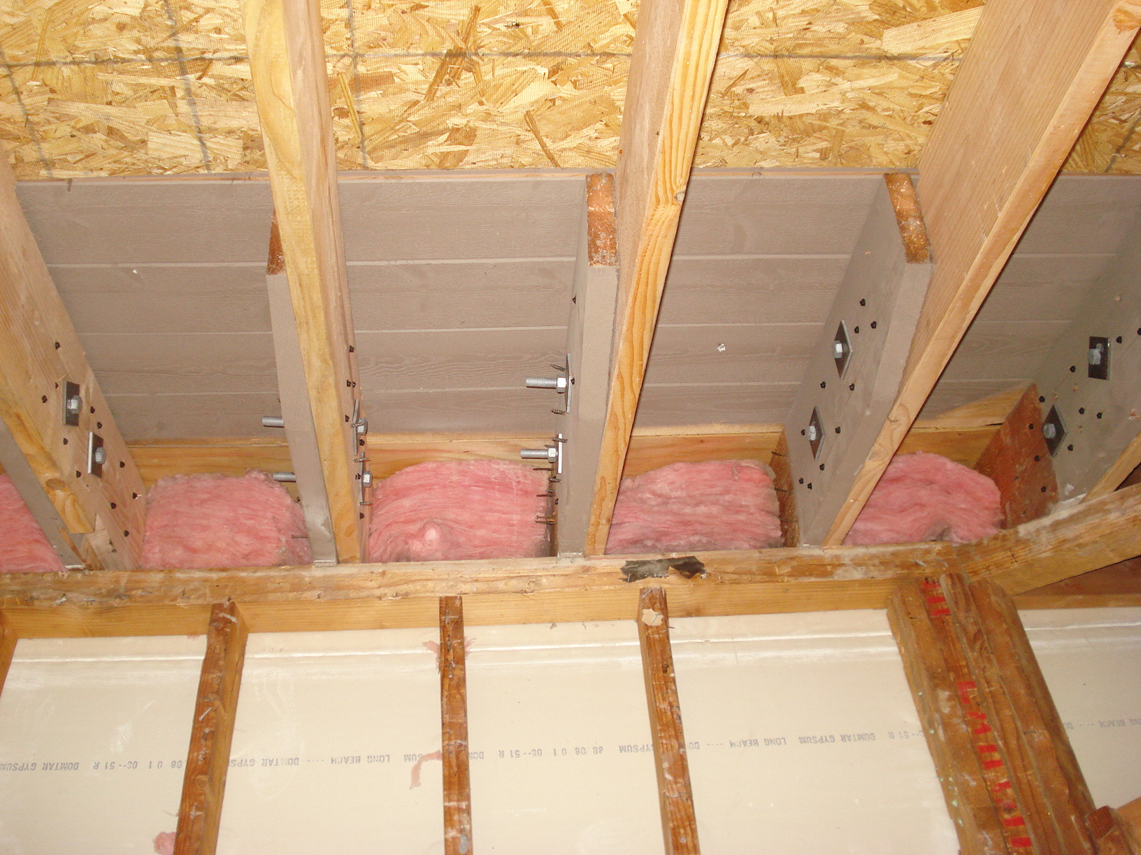 I Extending My Roof Rafters And I Used 2 1 2 Inch Bolts
