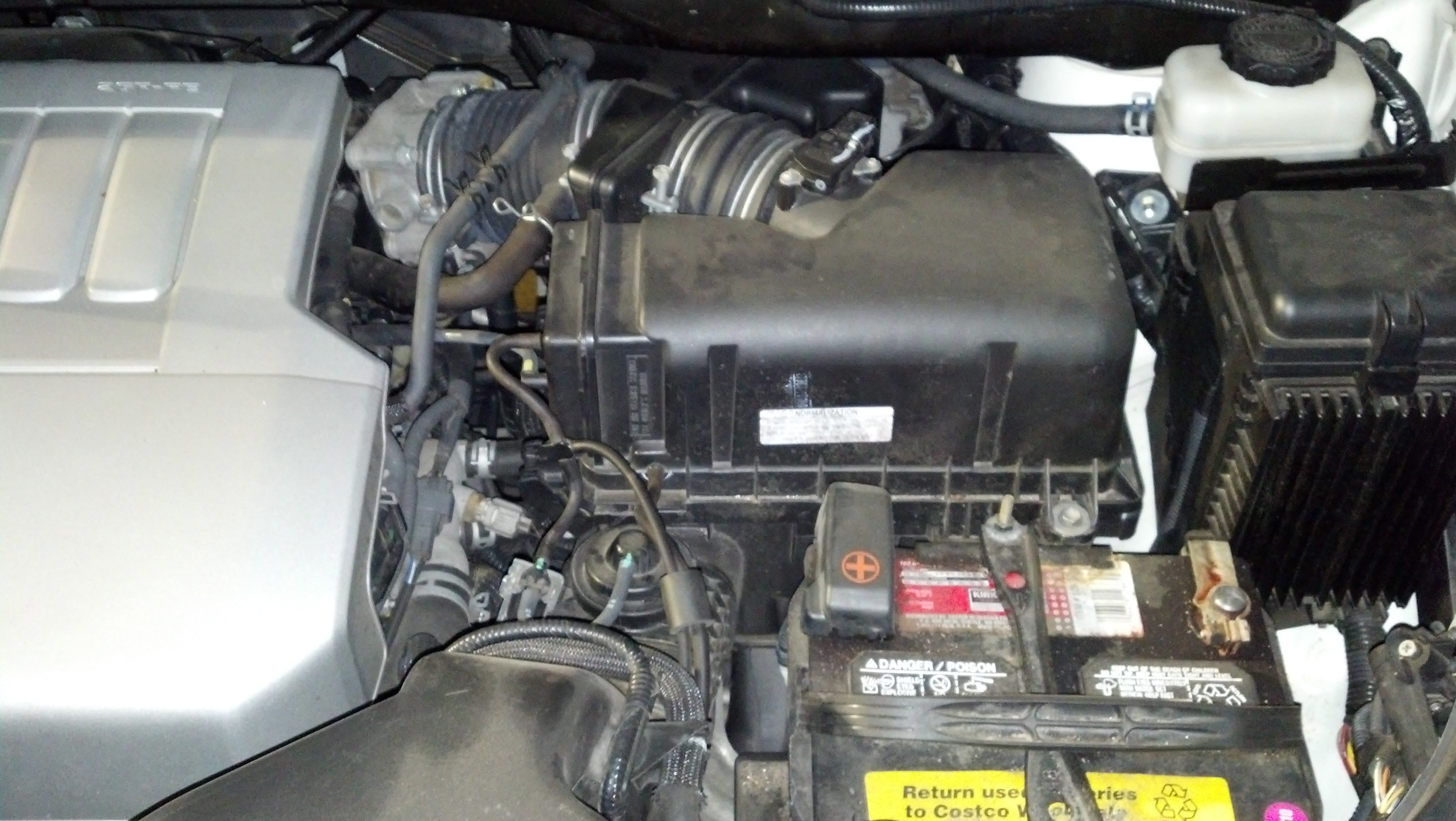 2007 Lexus RX 350 has check engine light and vsc lights lit