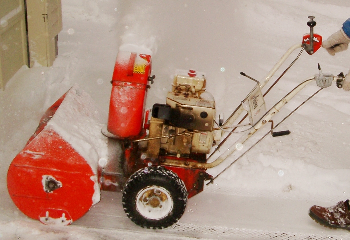 Snow Blower Found : I m working on an ariens hp snow blower that is about