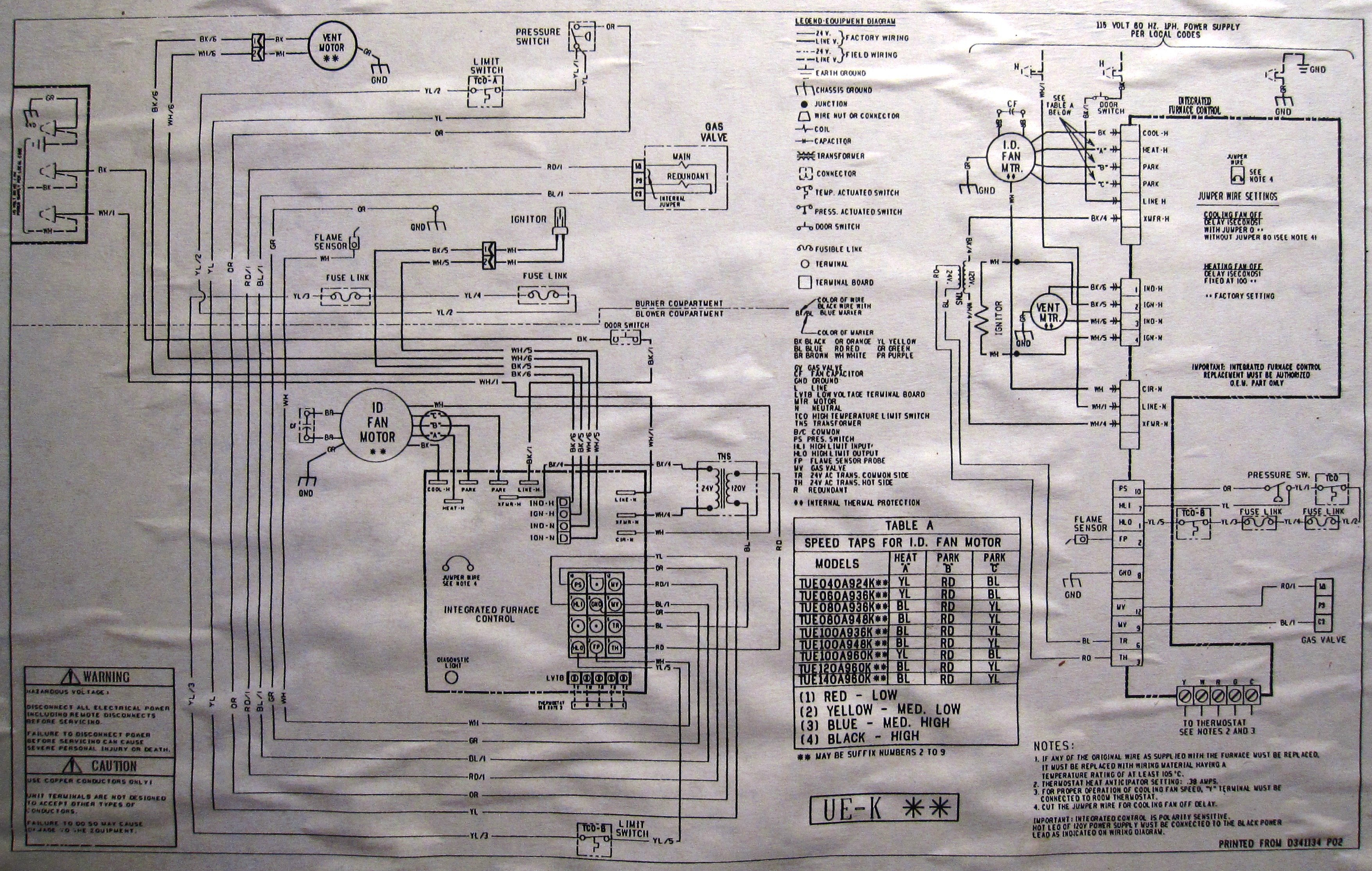 I Have A Two Zone Ac Furnace System Controlled By Thermostats Control Wiring Diagram