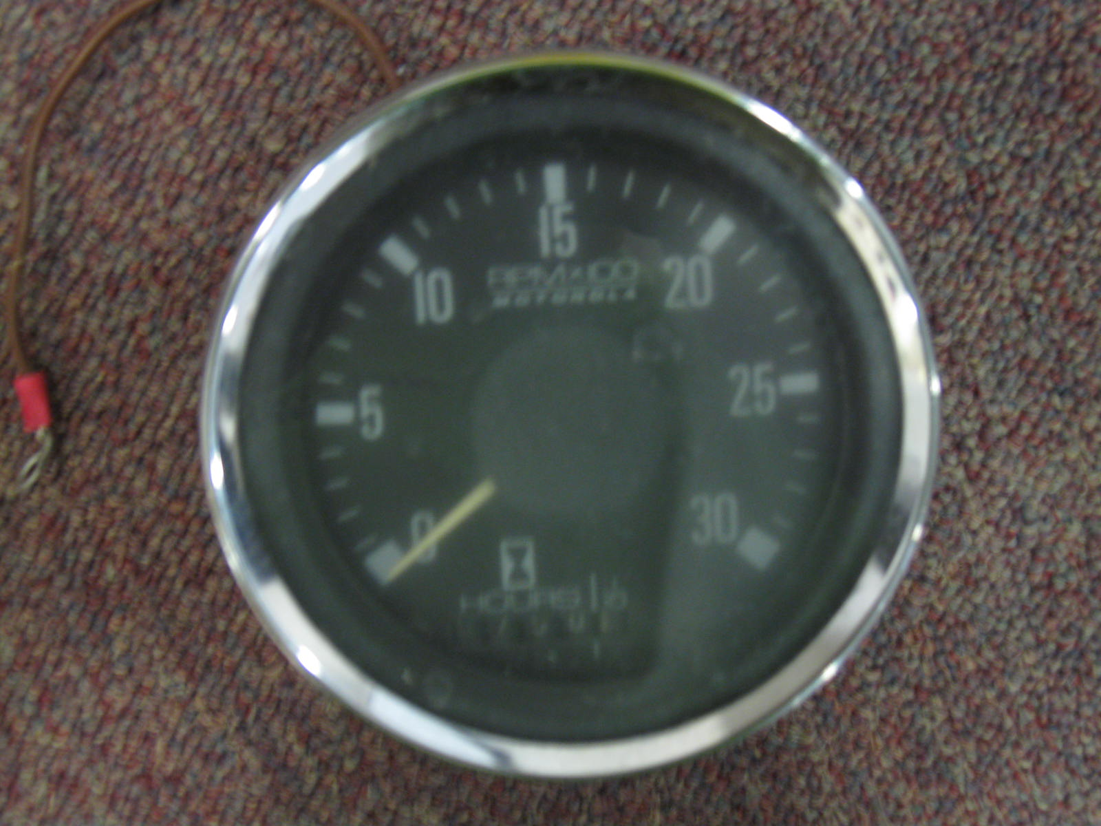 I Have A Motorola Tachometer Off A 50 Hp Perkins Diesel Engine  Was Connected To Alternator