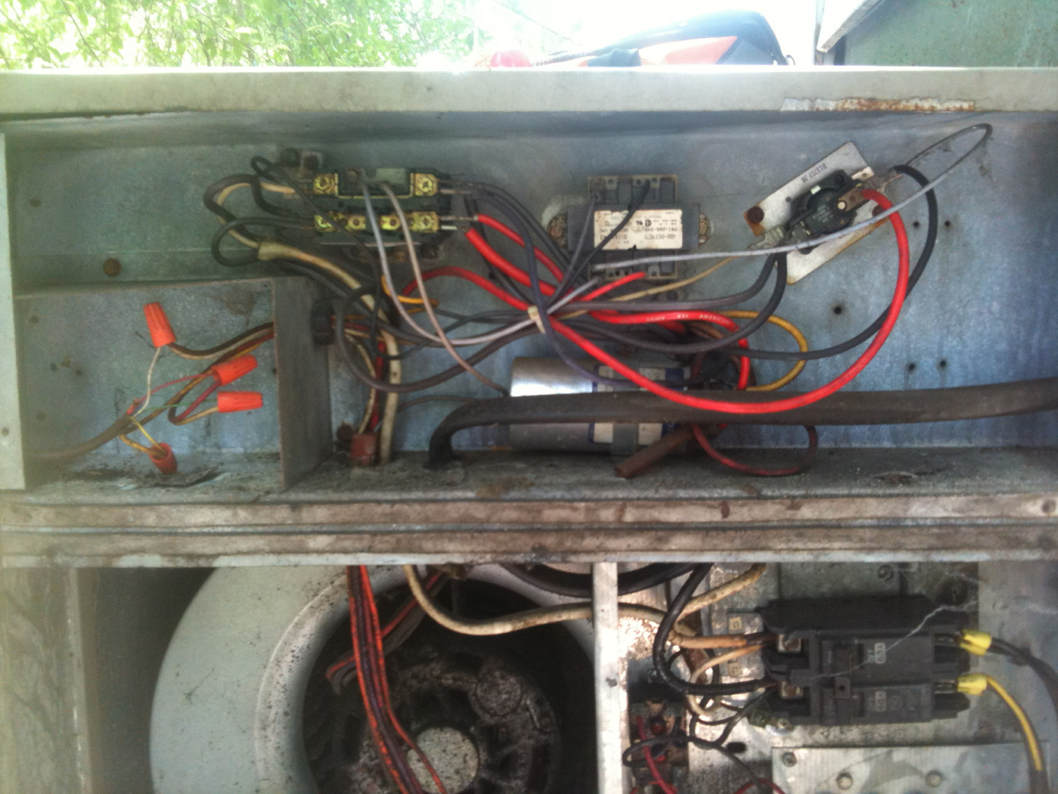 I Have A Goodman Pc024 1brev E Ser Xxxxxxxxx It Has Suddenly Furnace Wiring Diagram For Gas Units Full Size Image