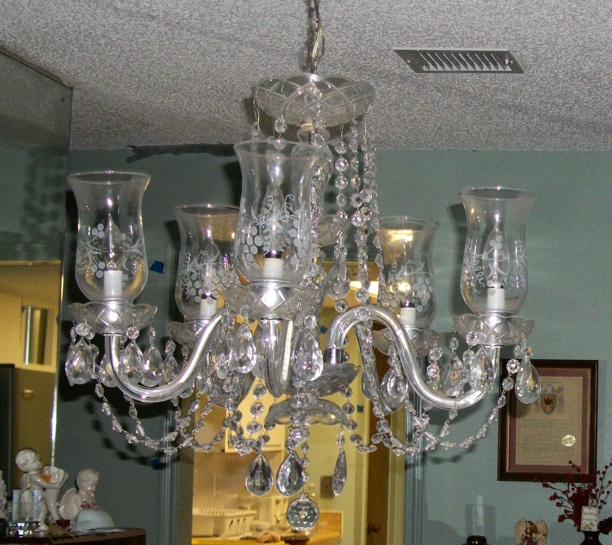 I have an antique Crystal Chandelier I need a value on. I have a ...