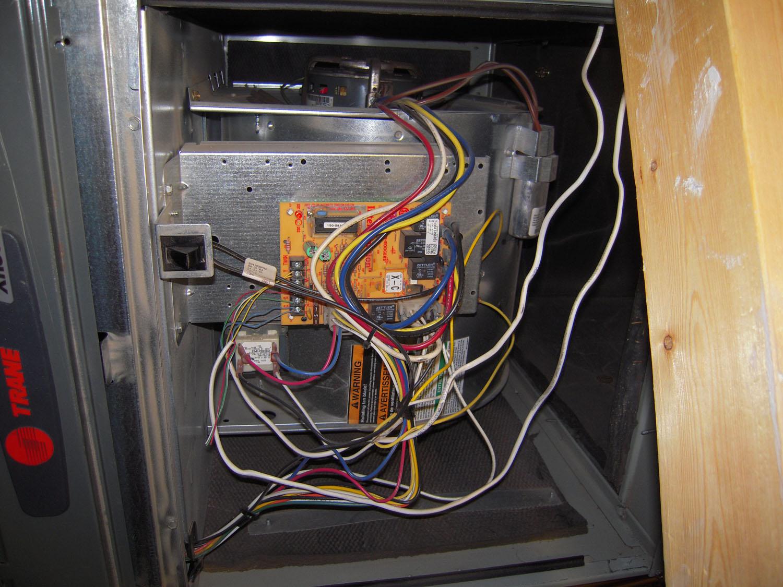 Trane Xr12 Inside Unit Broken A C Wires Doityourselfcom Community Forums I Have Train Ac Ubit Was Repacing Themrostat 1500x1125