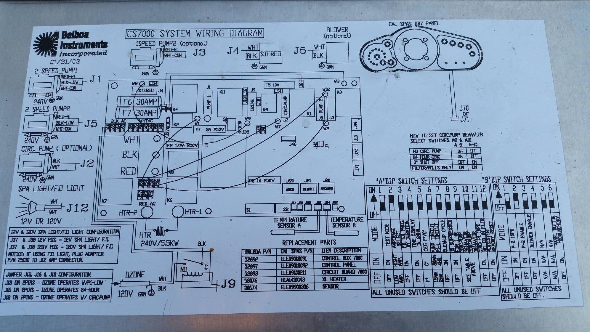 1994 Cal Spa Wiring Diagram Circulation Pump Dolgularcomdesign