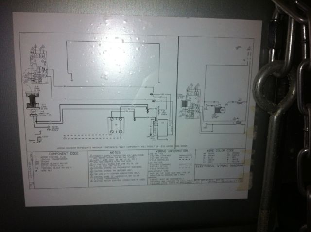 How To Wire Thermostat To In Air Handler Rheem Classic 14 Manual Guide
