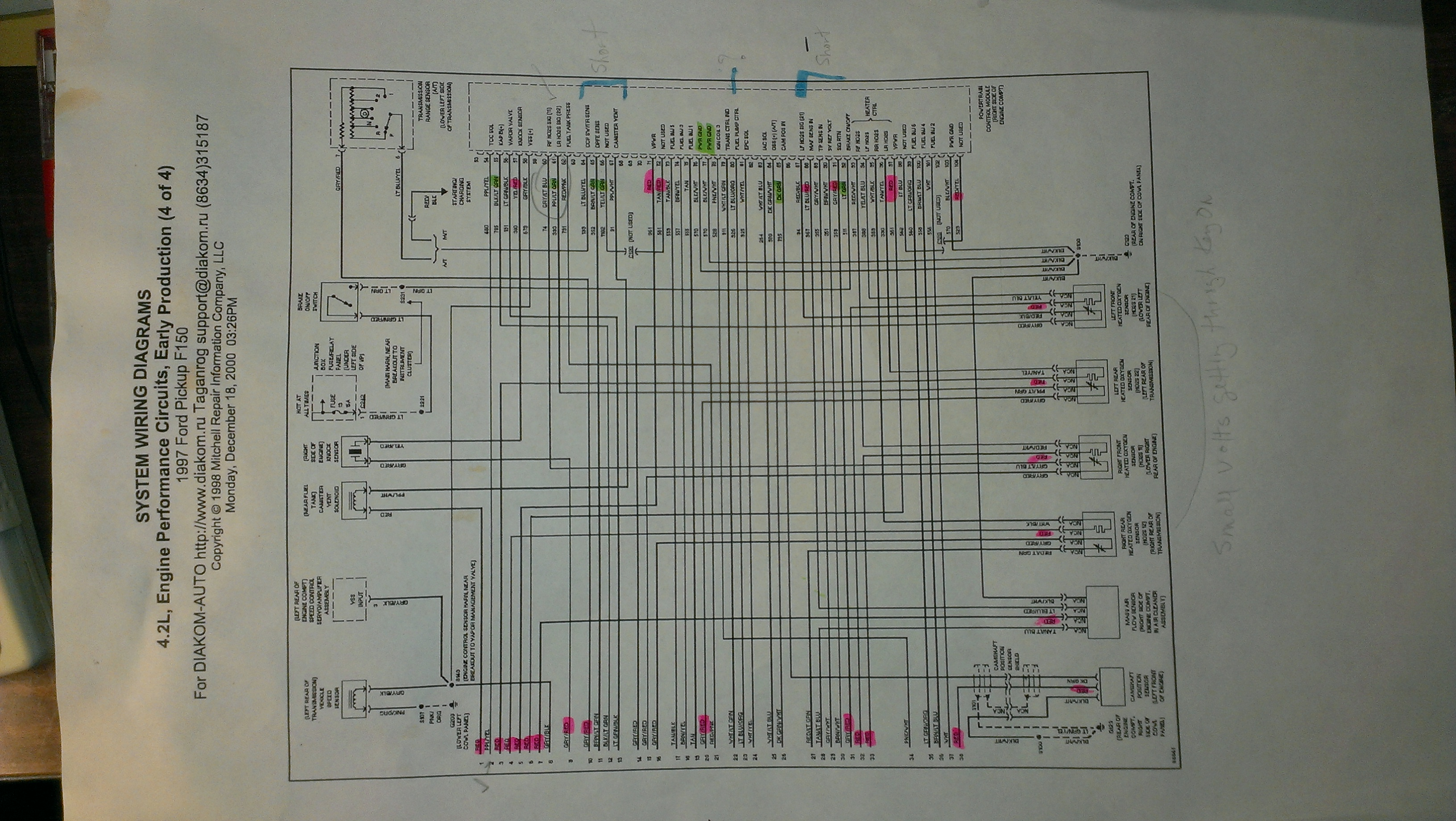 Was Following Your 97 F150 Thread From 4 Years Ago And I Have A 1997 Ford Pickup F350 System Wiring Diagram Service Repair 2014 07 06 211609 Imag1189