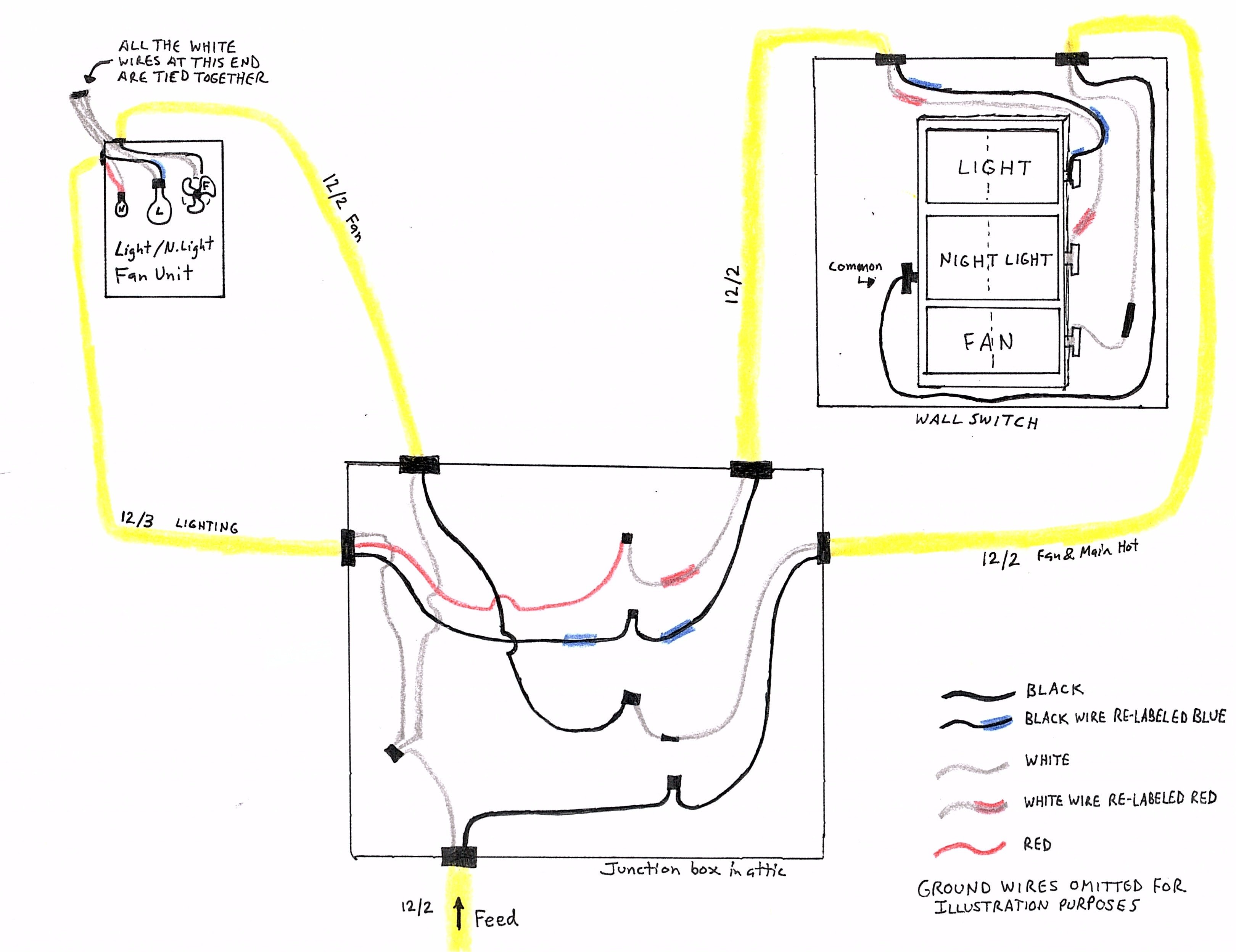 bathroom wiring diagram i re wired my home s    bathroom    during a renovation project  i re wired my home s    bathroom    during a renovation project