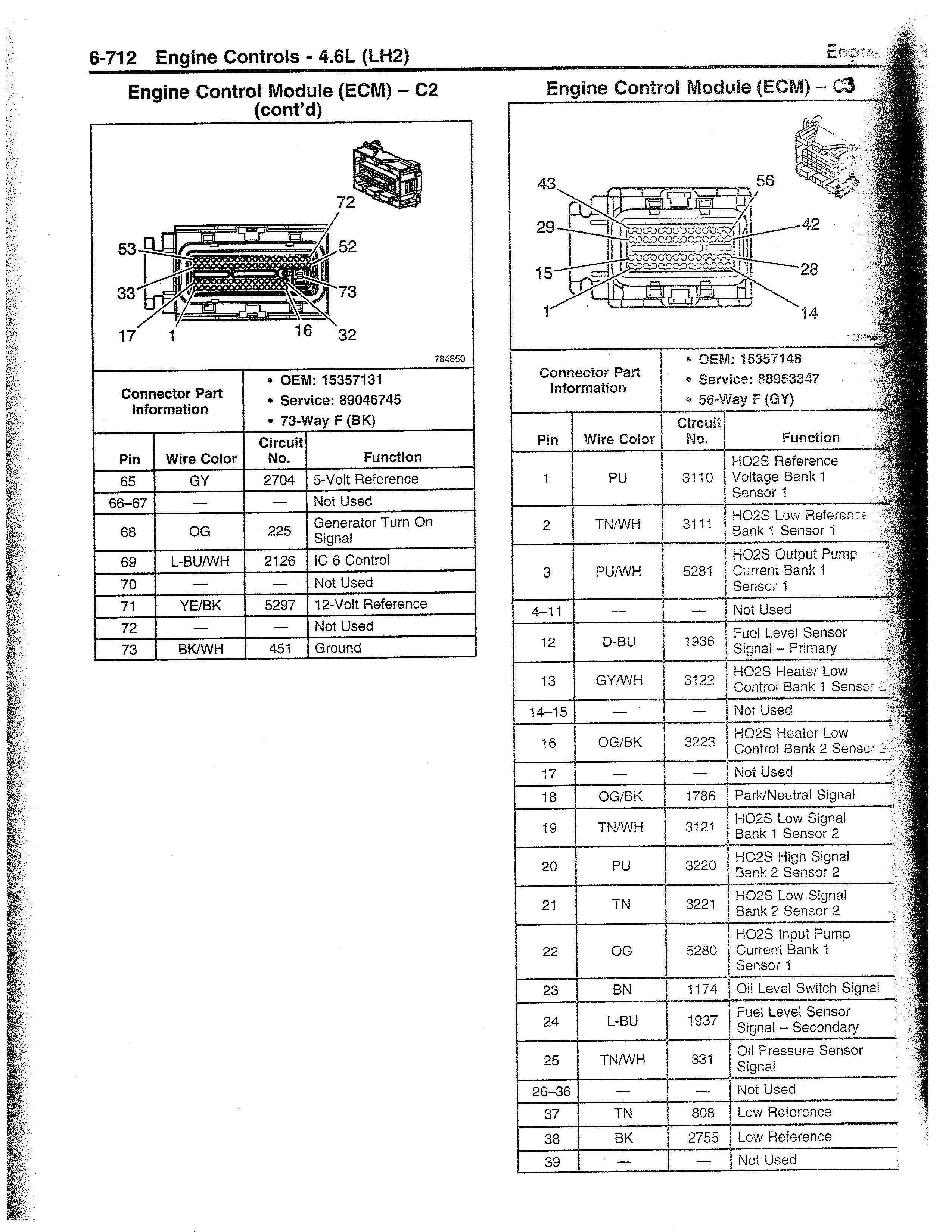 2005 Cadillac Ecm Wiring Diagram Collection
