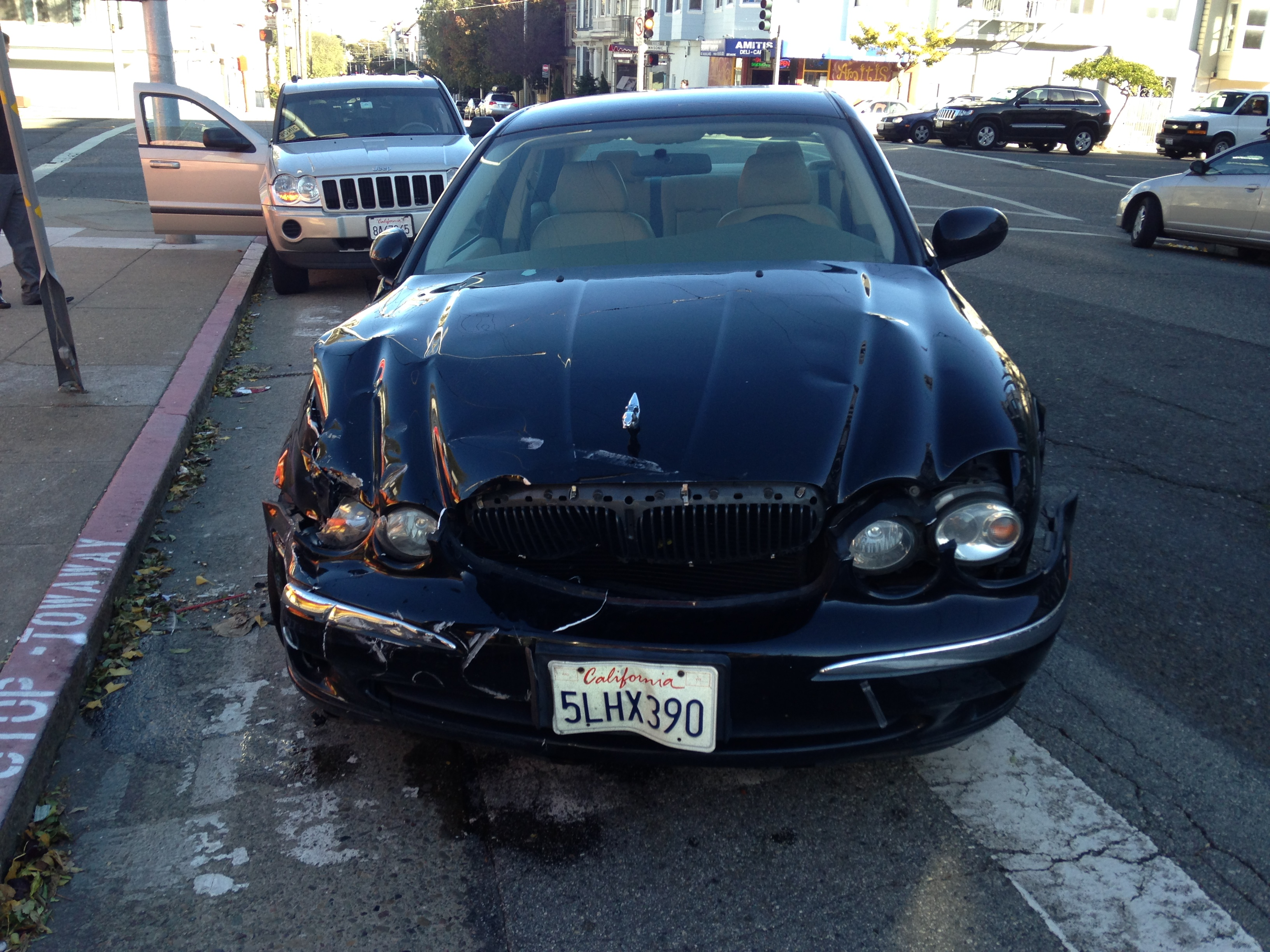 Problem starting an accident/salvage Jaguar: I had an
