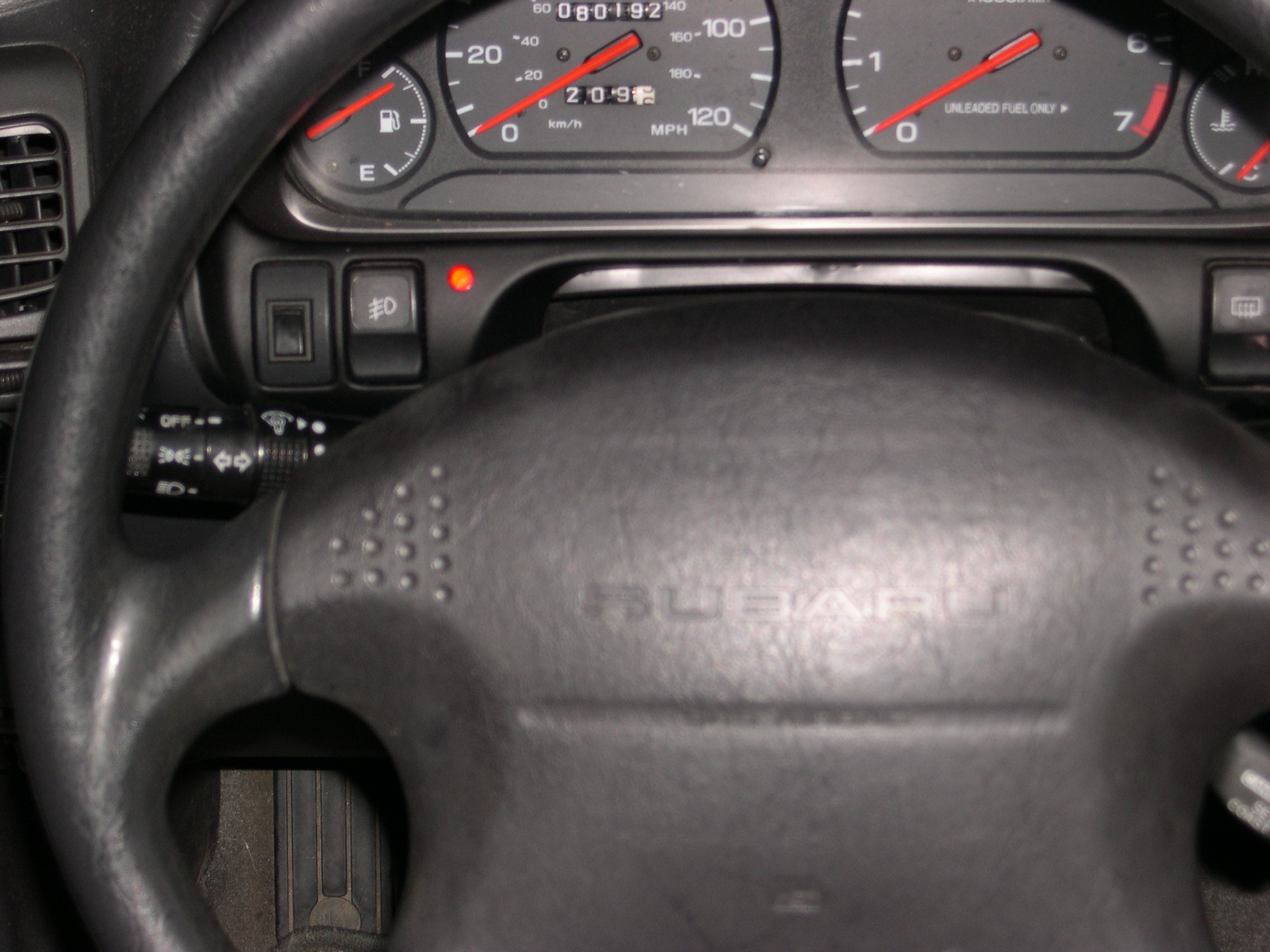 Subaru Legacy Wagon Red Light On The Left Of Dashboard Came 1998 Fuse Diagram Graphic