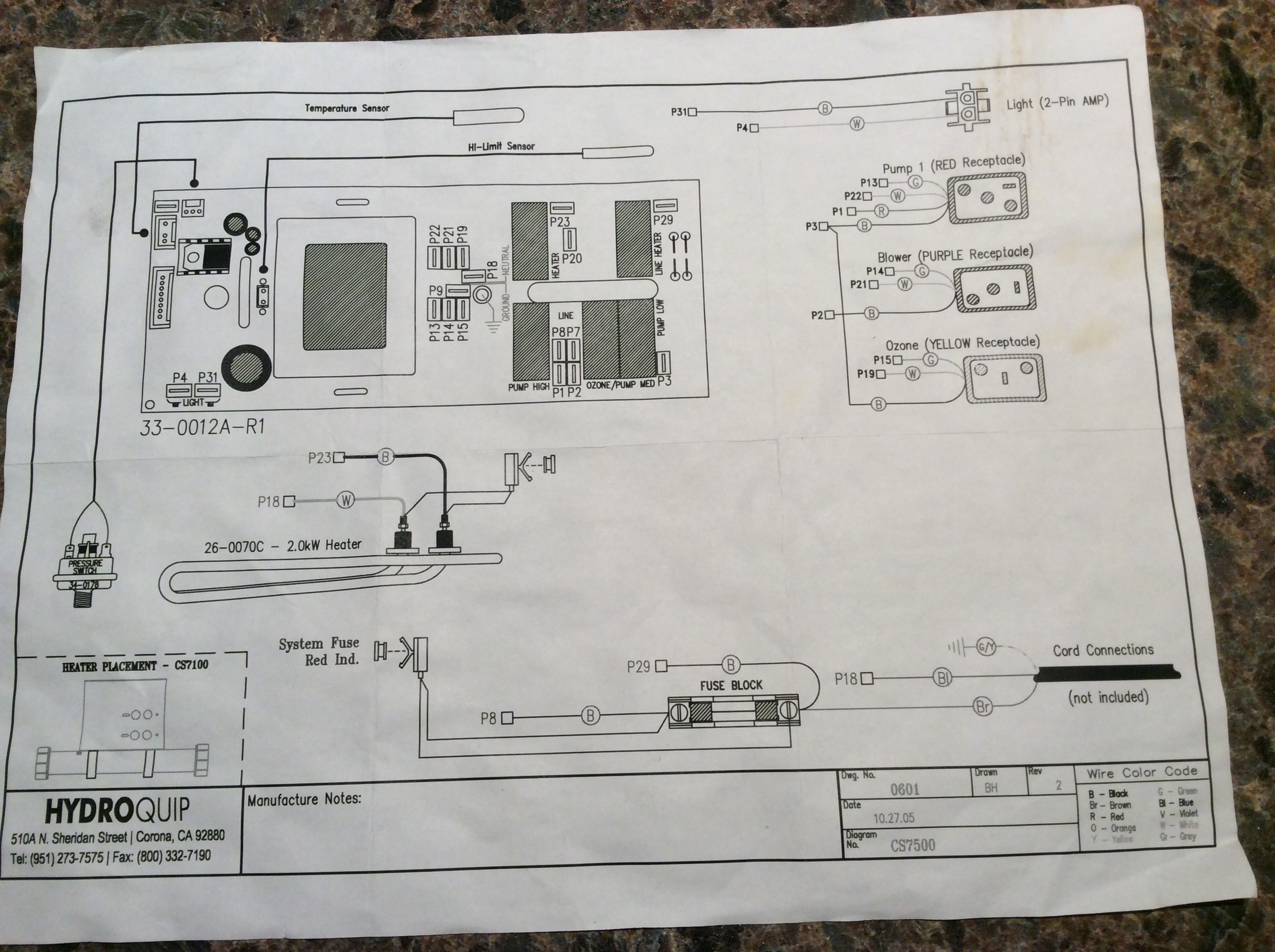 Hydro Quip Wiring Diagram Cs 6000 Schematic Diagrams Hydroquip Online U2022 3061 For Hot Tub