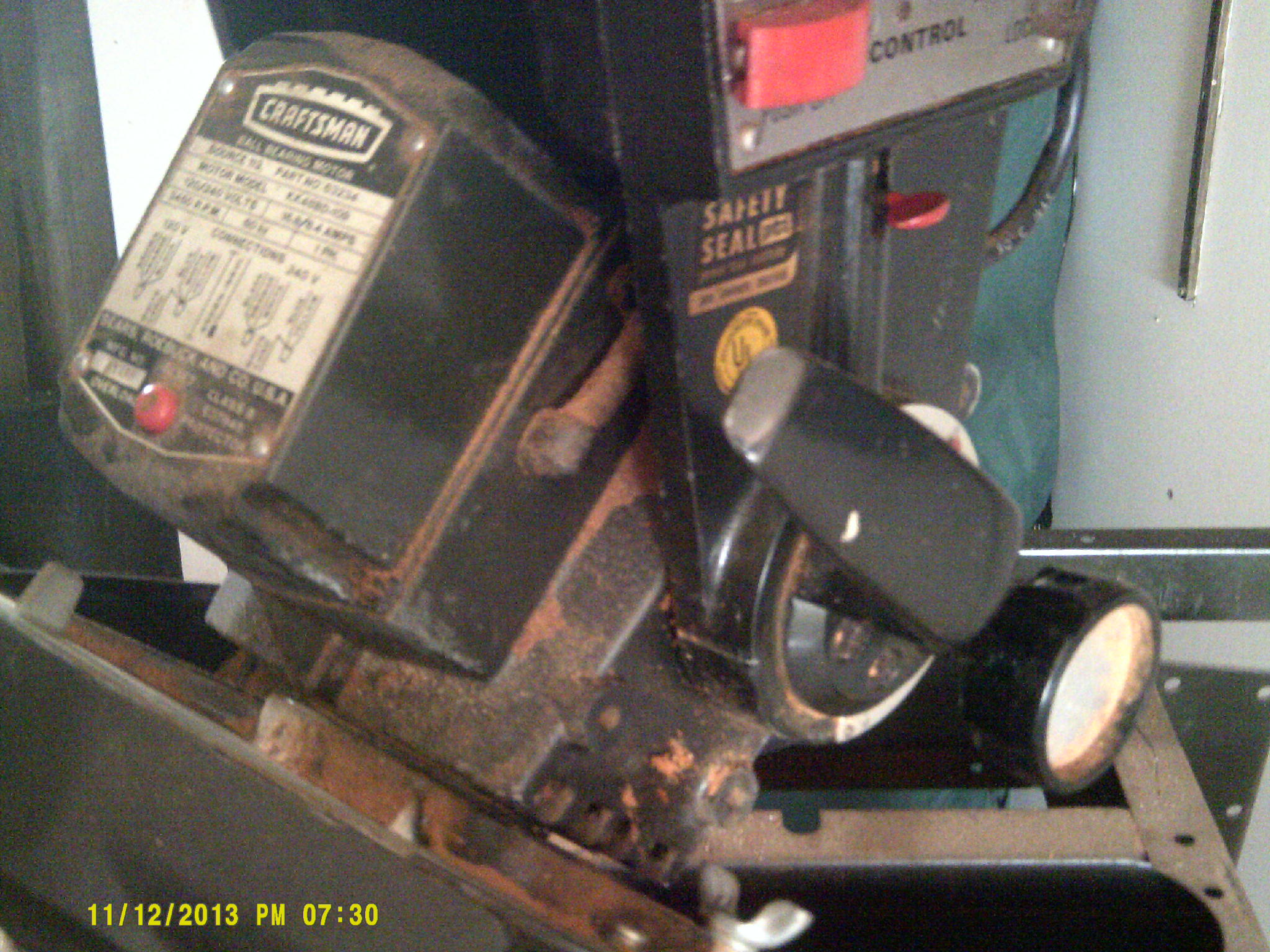 Power Tools  I Have A Craftsman Table Saw And Radial Arm Saw Which Are 220 Volt