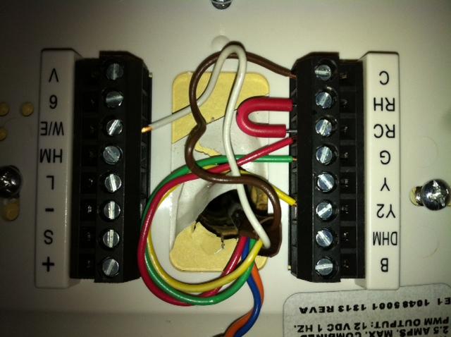 I cannot seem to wire my modulating rheem hc-tst412mdms