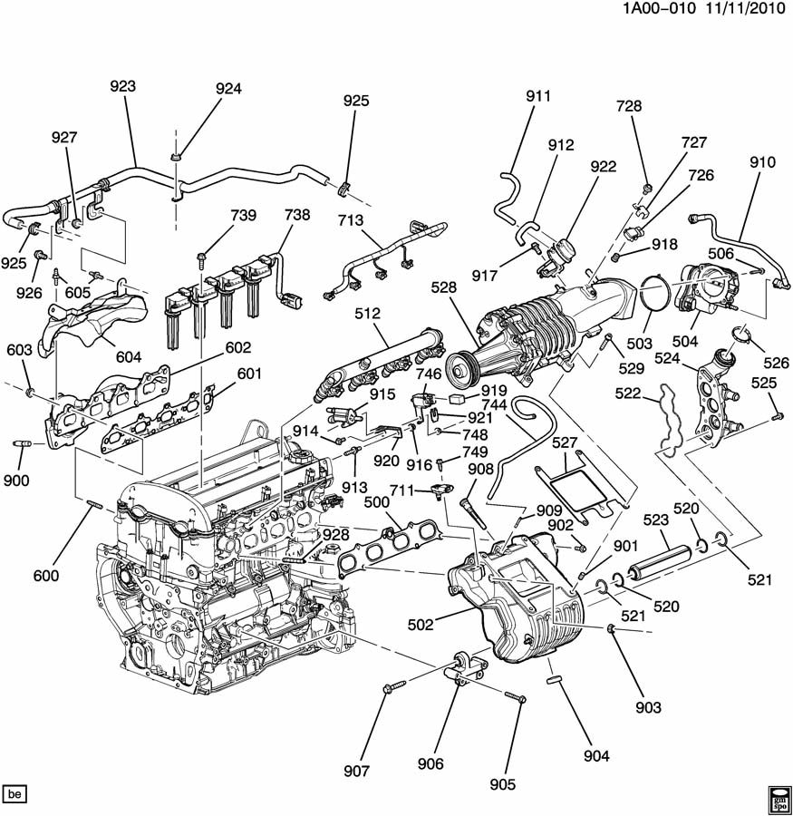 2.2 L Ecotec Engine Diagram - Data Wiring Diagrams