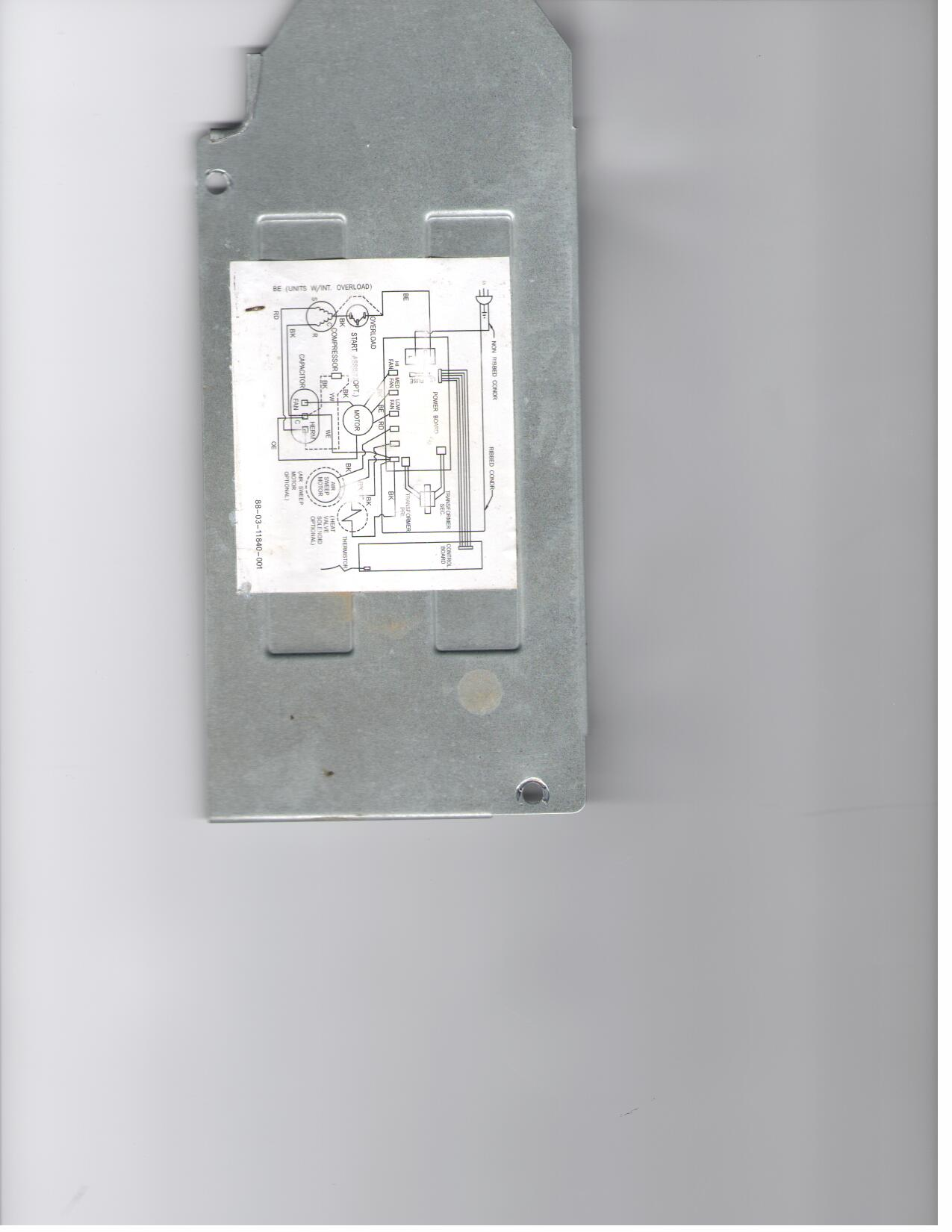 Maytag/Fedders 14,500 BTU window A/C unit Mod# M7Y15F2A-D ... on