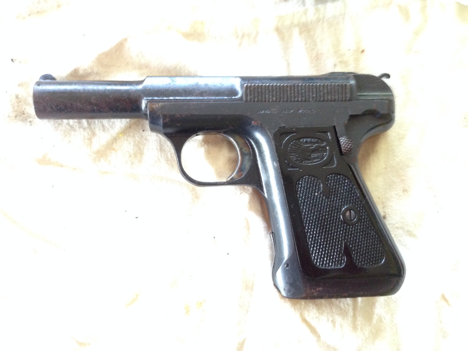 I found two old  32 cal auto pistols in my father's attic after he